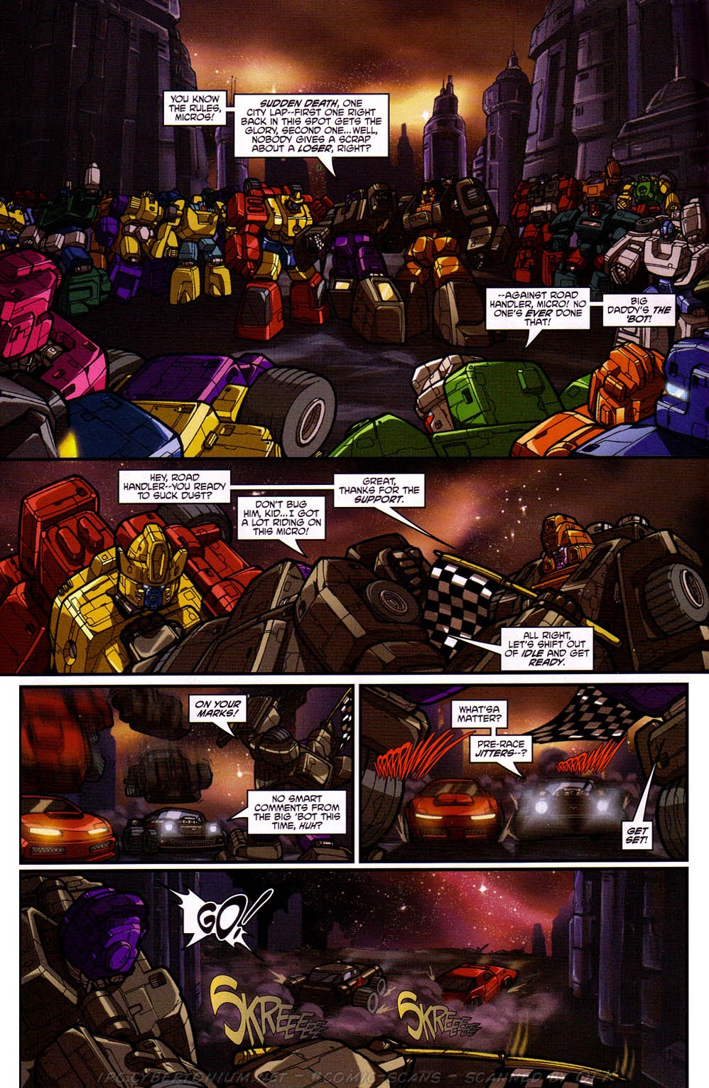 Read online Transformers: Micromasters comic -  Issue #2 - 18