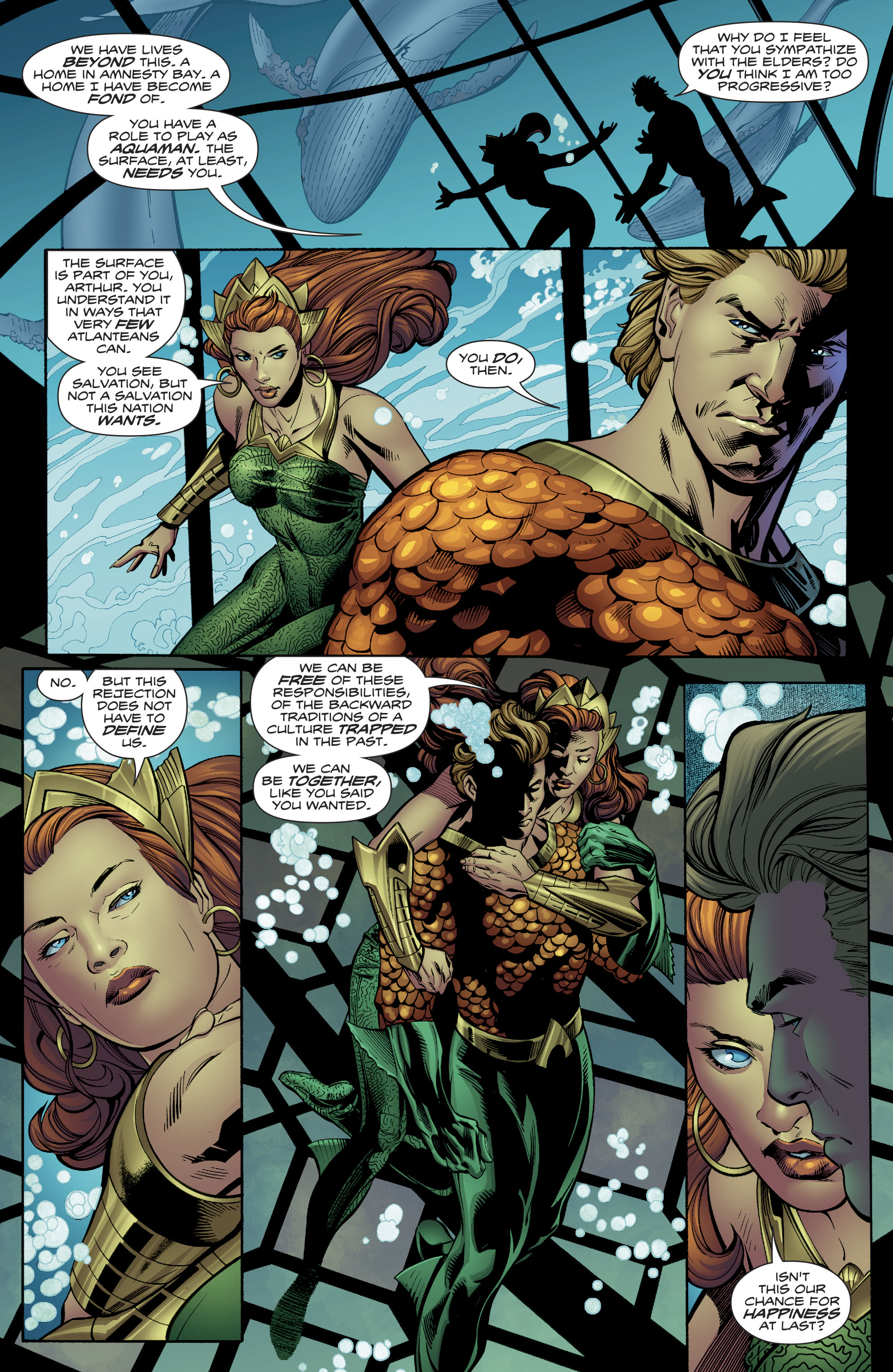 Read online Aquaman (2016) comic -  Issue #24 - 7