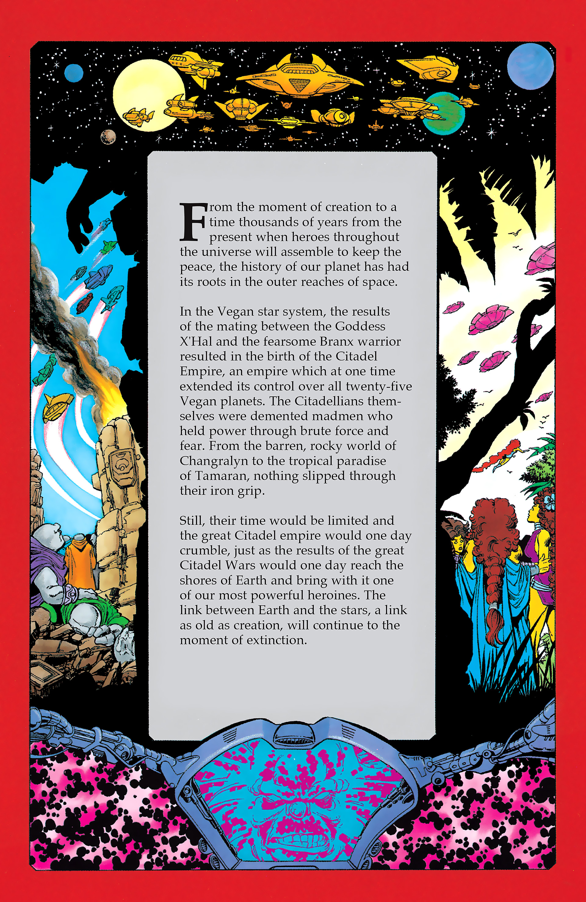 Read online History of the DC Universe comic -  Issue #1 - 32
