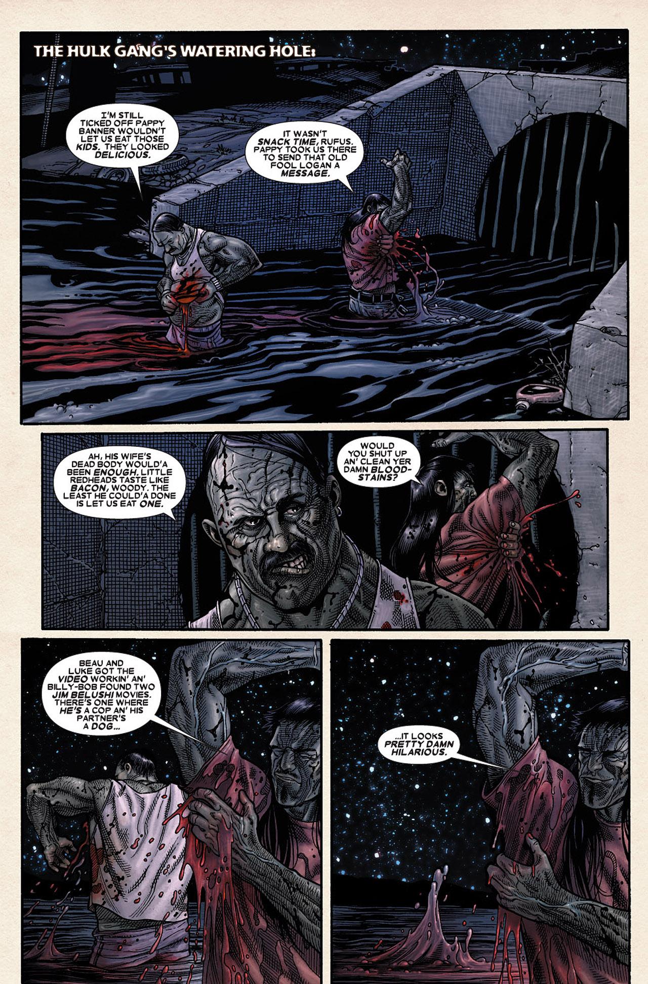 Read online Wolverine: Old Man Logan comic -  Issue # Full - 167