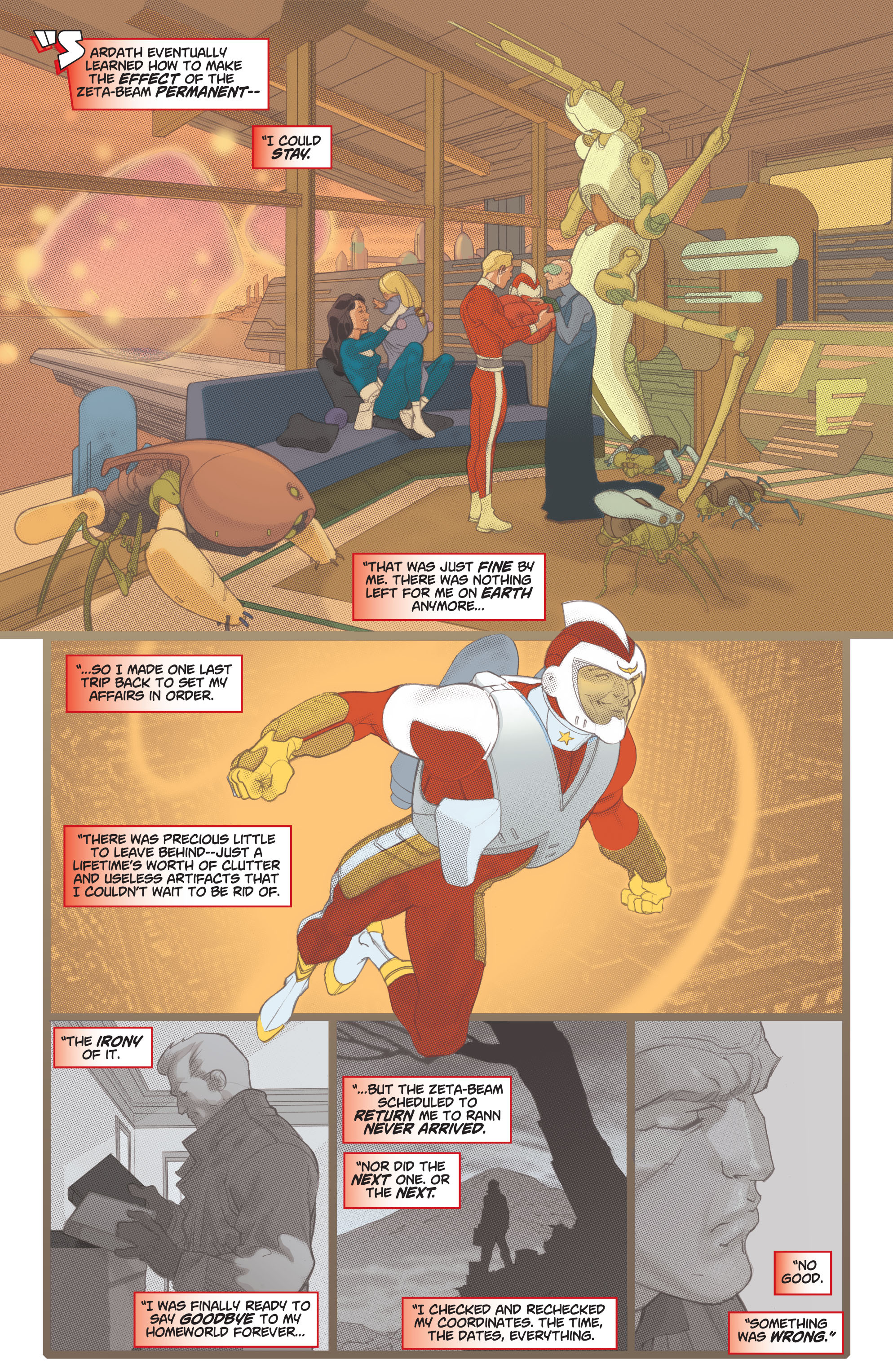 Read online Adam Strange (2004) comic -  Issue #1 - 9