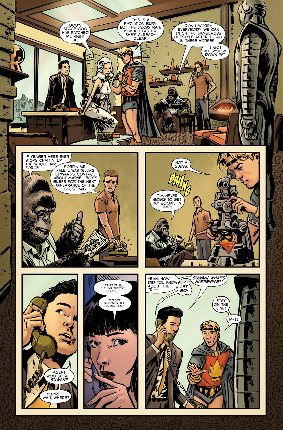Read online Agents Of Atlas (2009) comic -  Issue #3 - 16