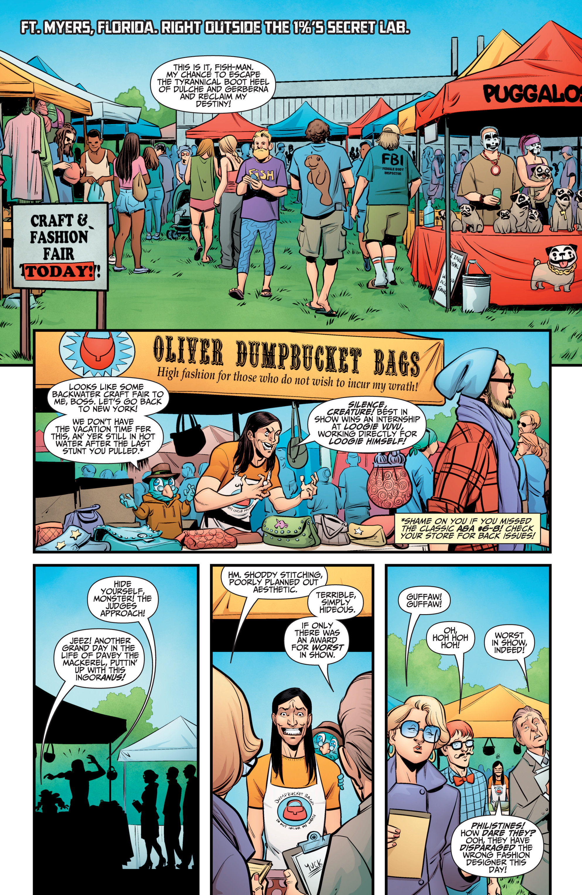 Read online A&A: The Adventures of Archer & Armstrong comic -  Issue #10 - 13