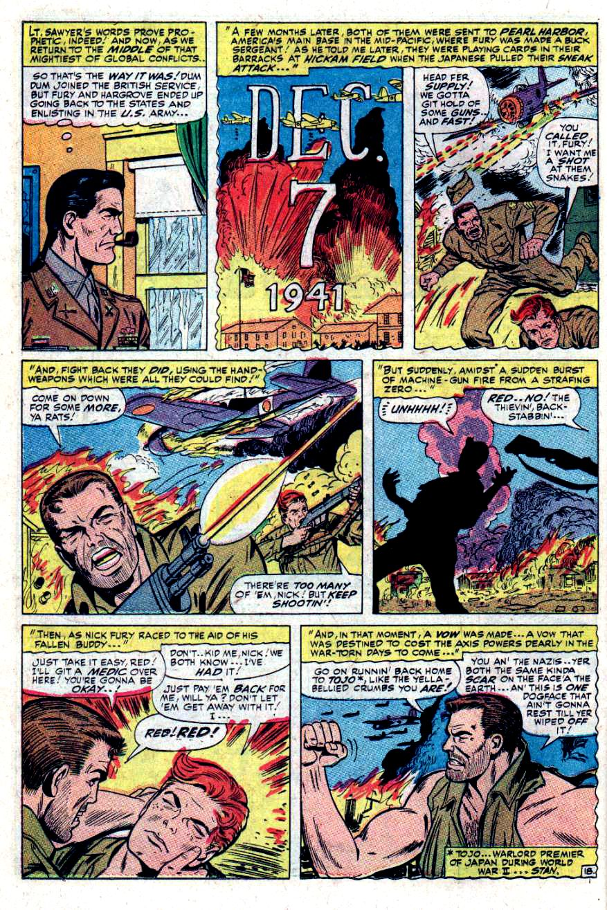 Read online Sgt. Fury comic -  Issue #34 - 26