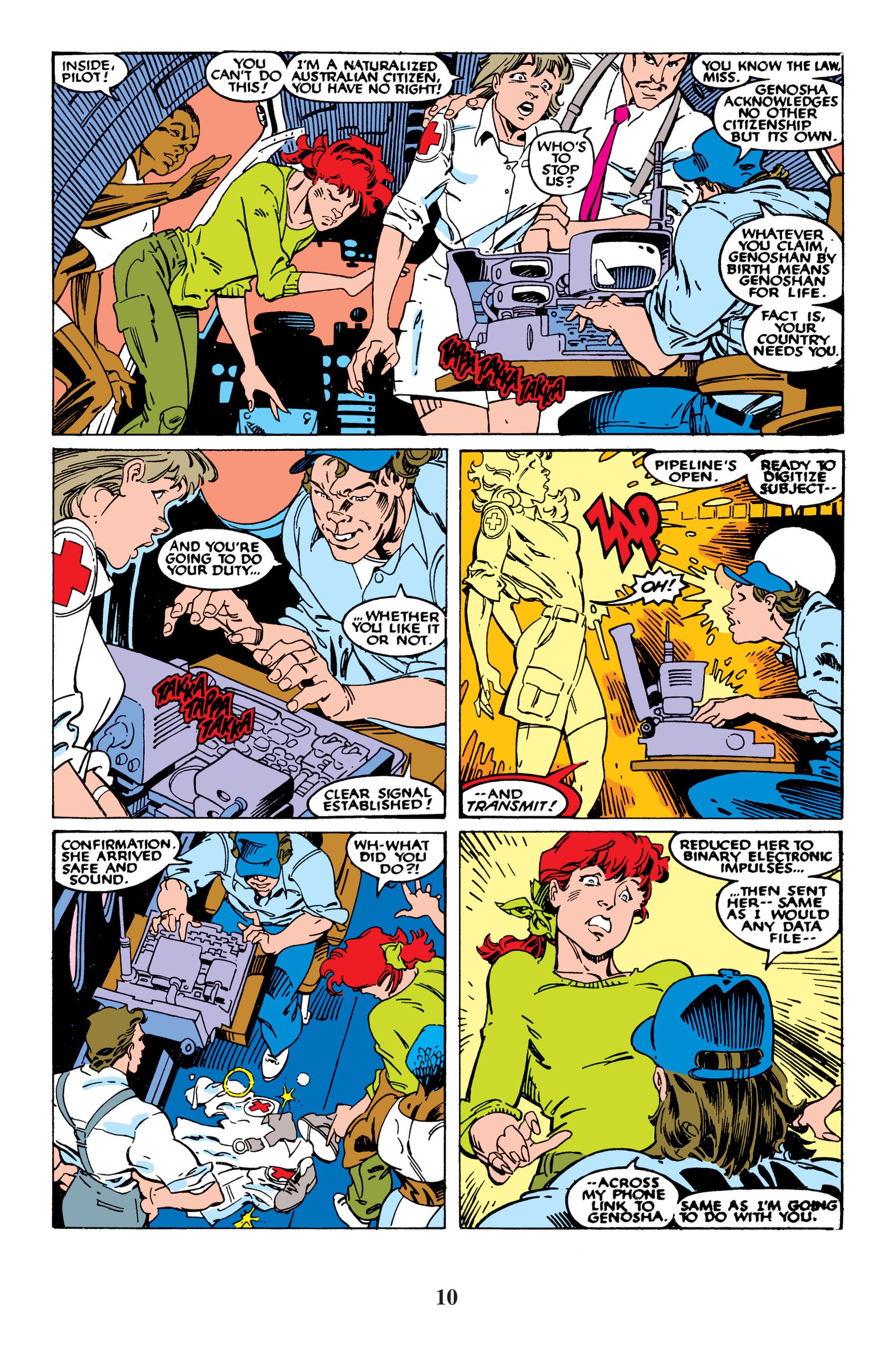 Read online Uncanny X-Men (1963) comic -  Issue #235 - 10