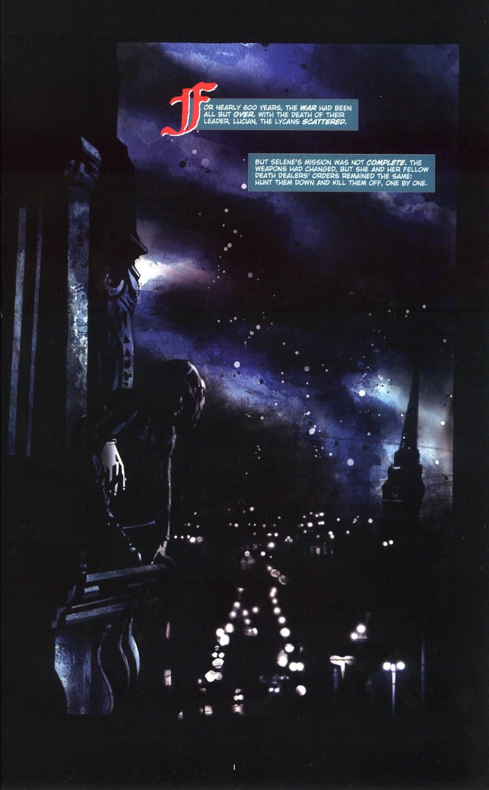 Read online Underworld (2003) comic -  Issue # Full - 3