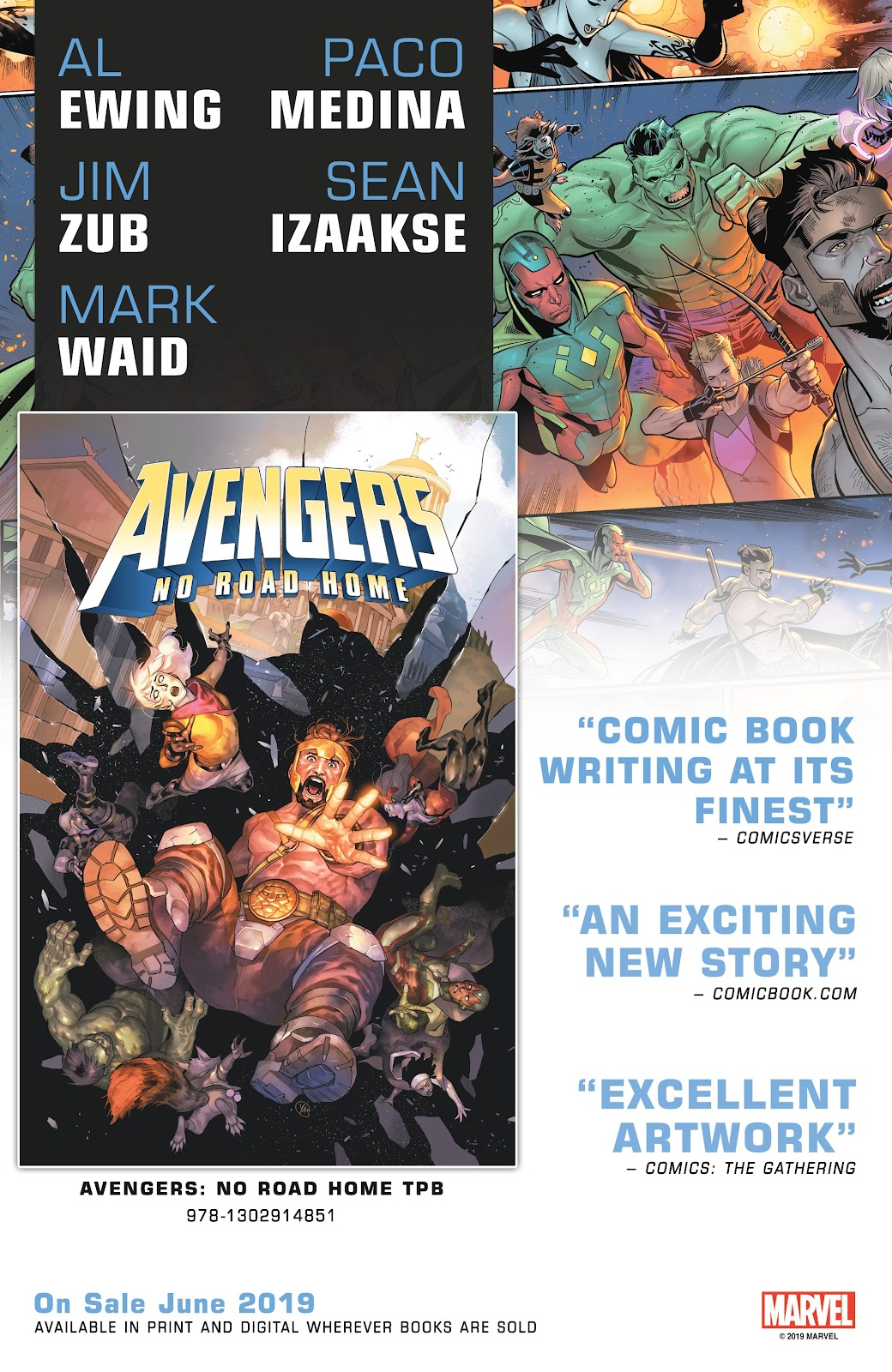 Read online Avengers Start Here Sampler 2019 comic -  Issue # Full - 8