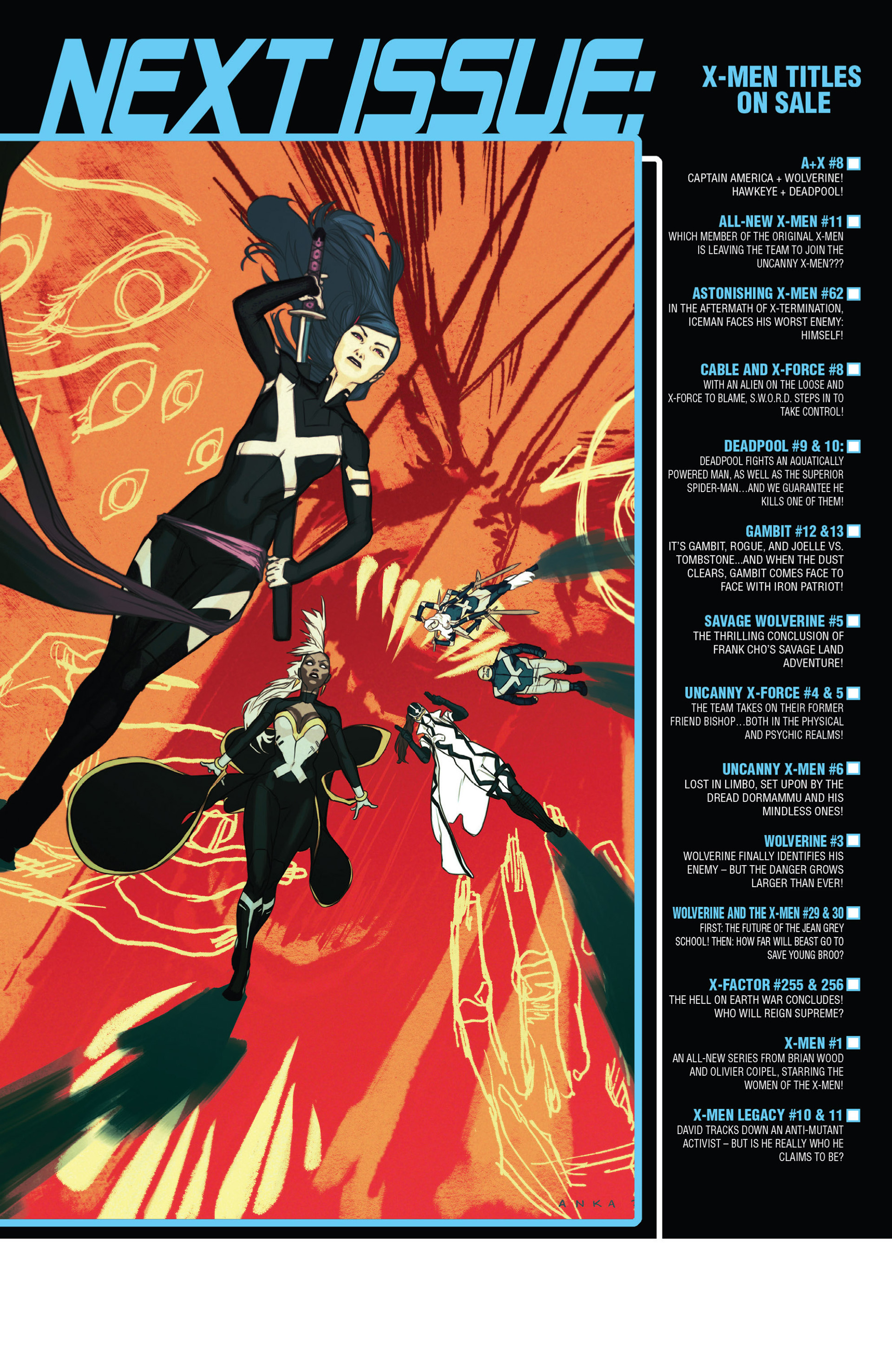 Read online Uncanny X-Force (2013) comic -  Issue #4 - 23