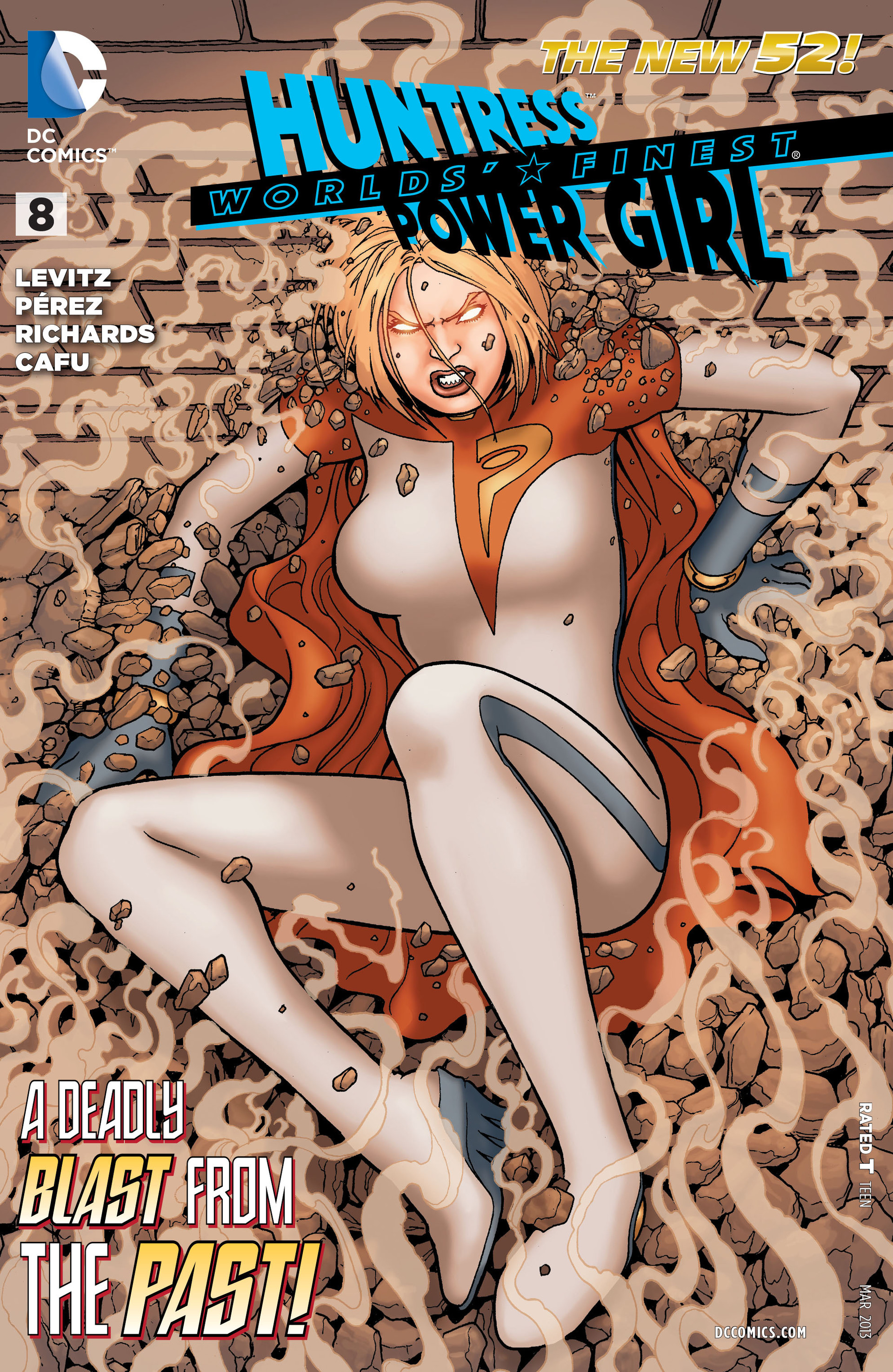 Read online Worlds' Finest comic -  Issue #8 - 1