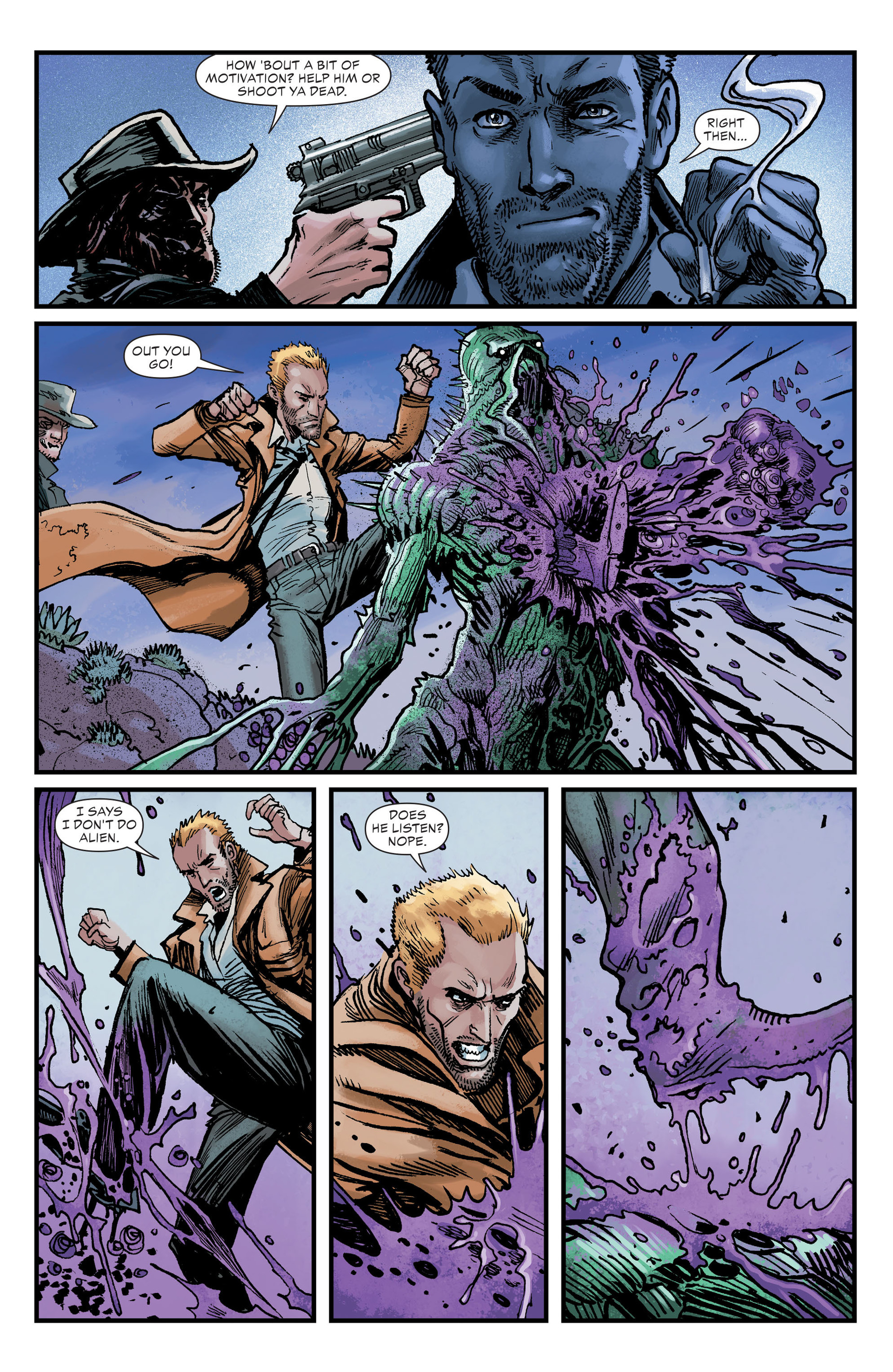 Read online All-Star Western (2011) comic -  Issue #26 - 17
