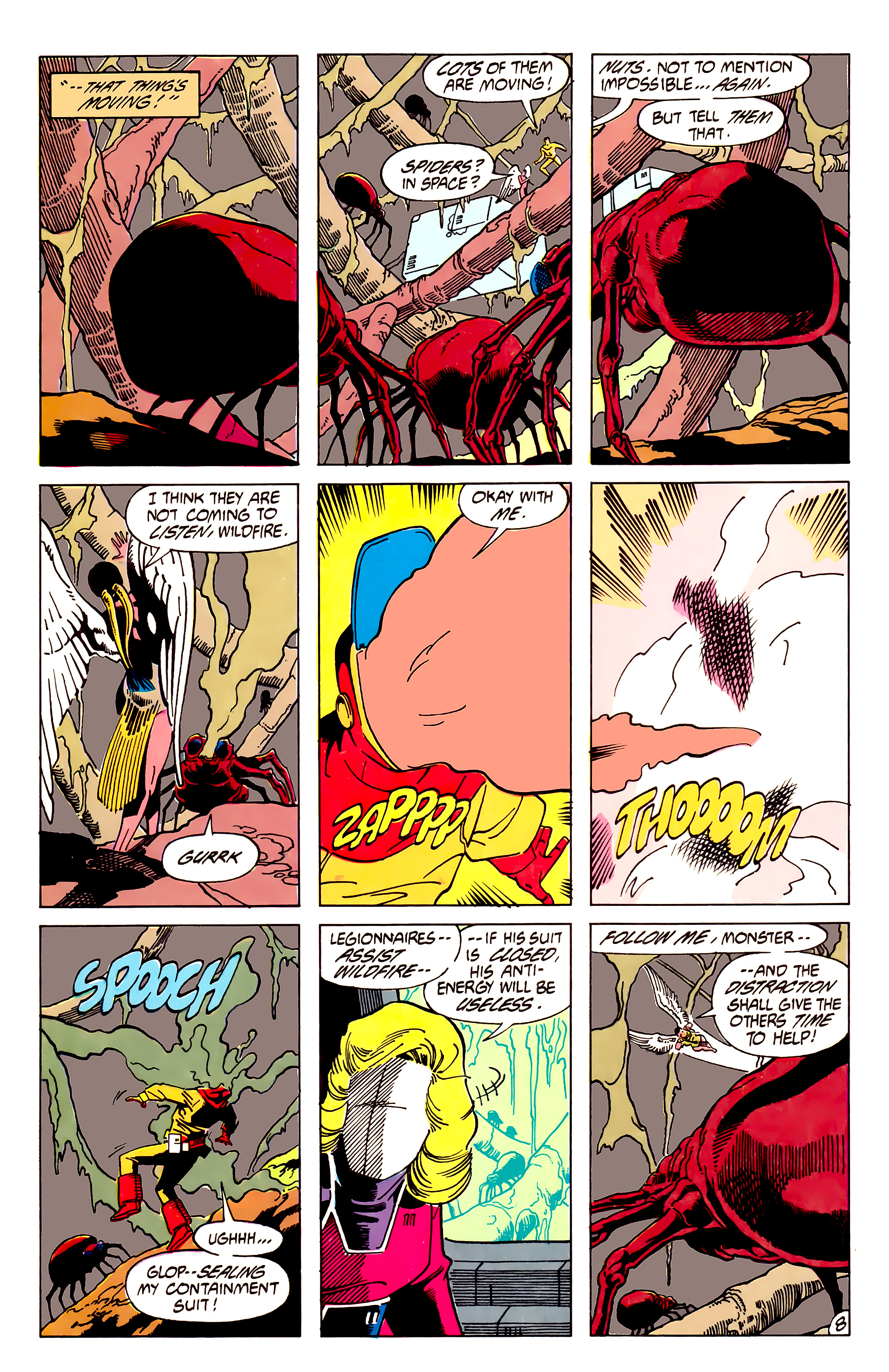 Legion of Super-Heroes (1984) 62 Page 8