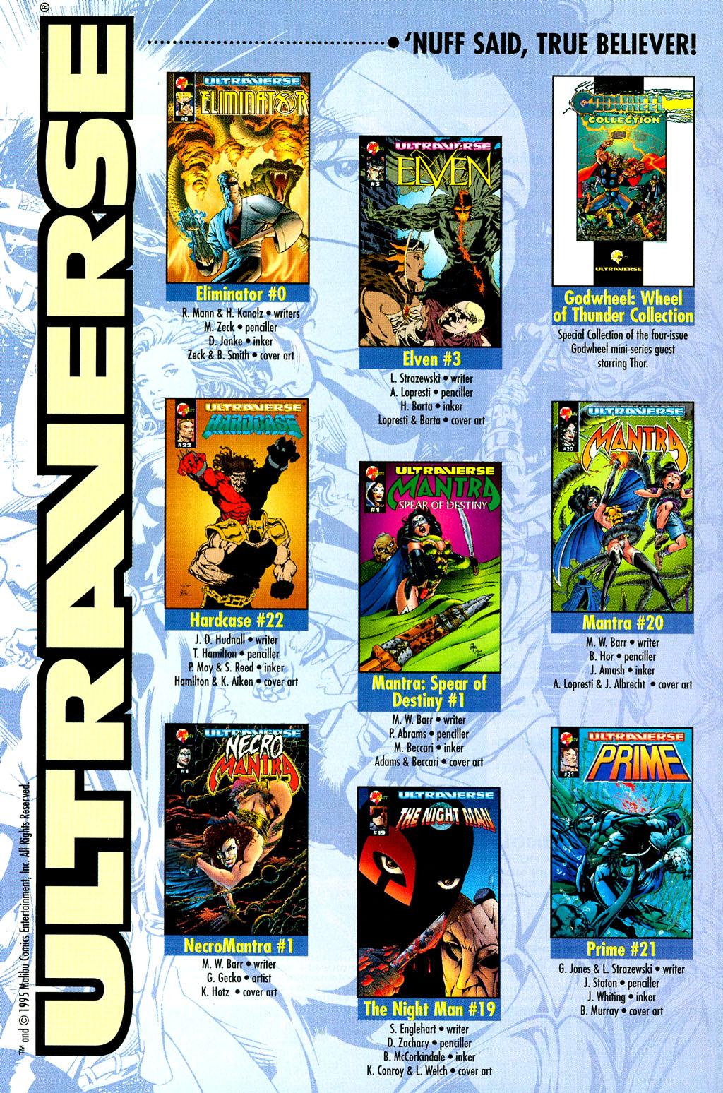 Read online UltraForce (1994) comic -  Issue #6 - 29