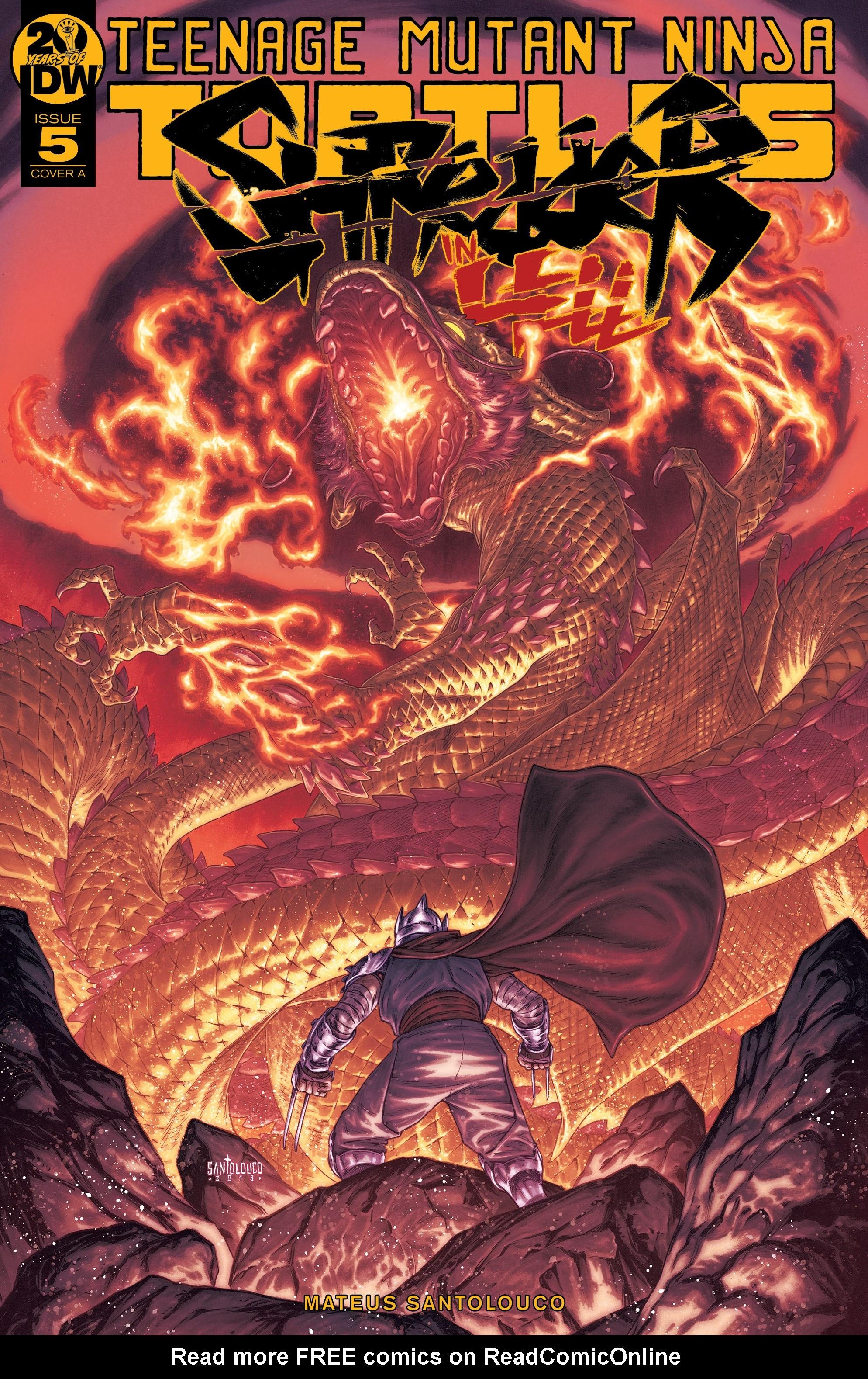 Teenage Mutant Ninja Turtles: Shredder in Hell 5 Page 1