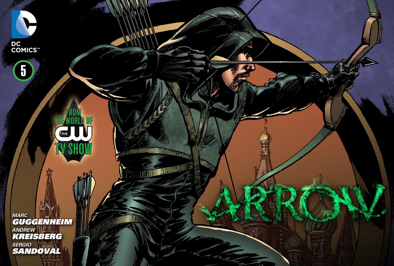 Read online Arrow [II] comic -  Issue #5 - 1