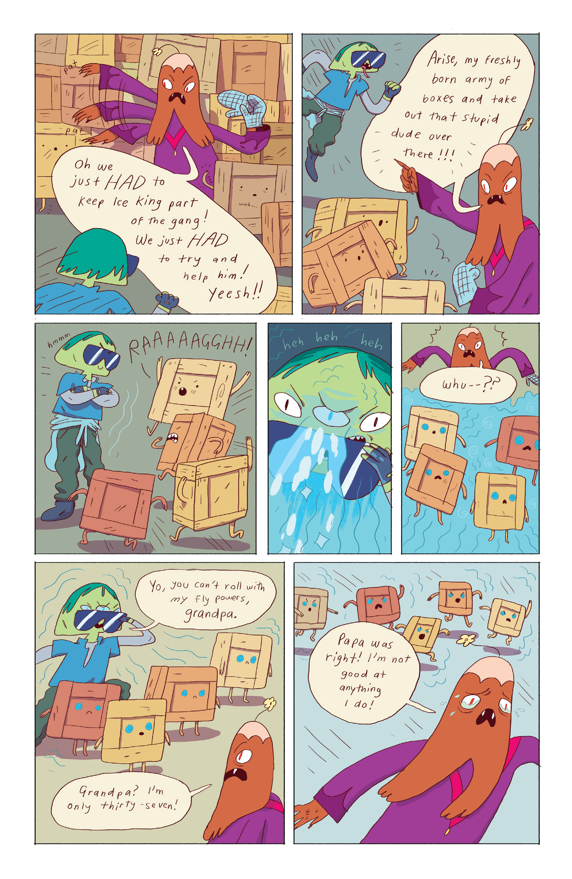 Read online Adventure Time: Ice King comic -  Issue #4 - 7