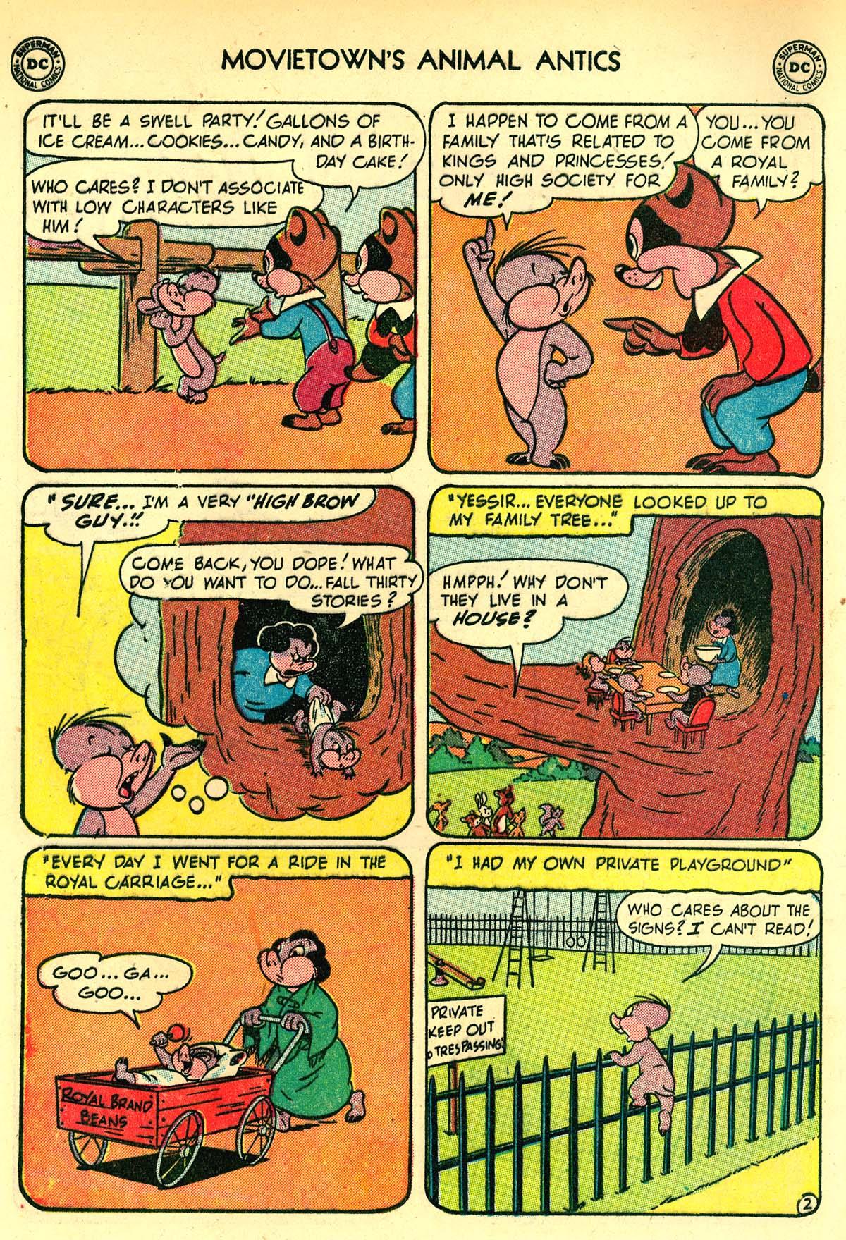 Read online Animal Antics comic -  Issue #33 - 4