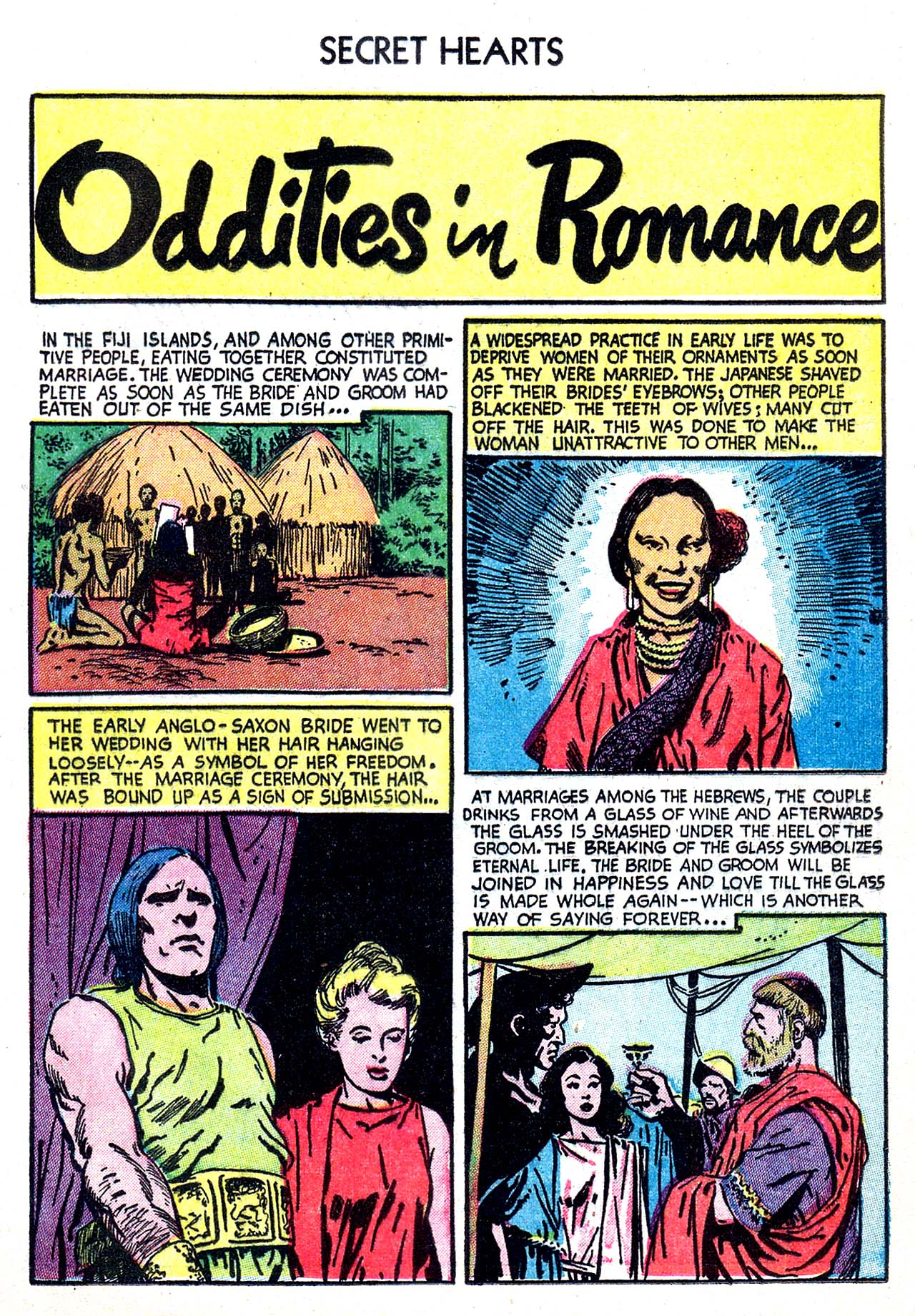 Read online Secret Hearts comic -  Issue #20 - 25