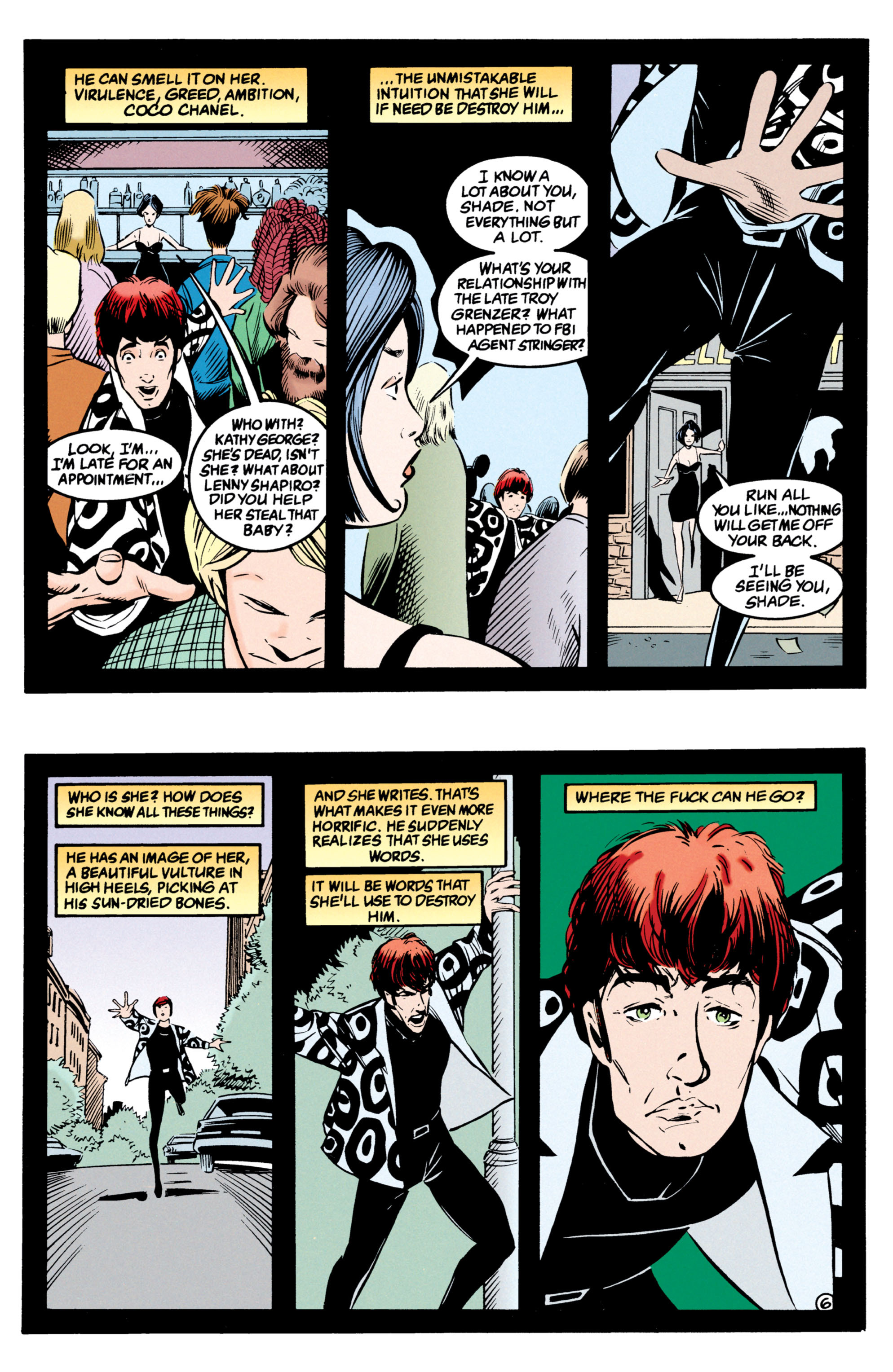 Read online Shade, the Changing Man comic -  Issue #54 - 7
