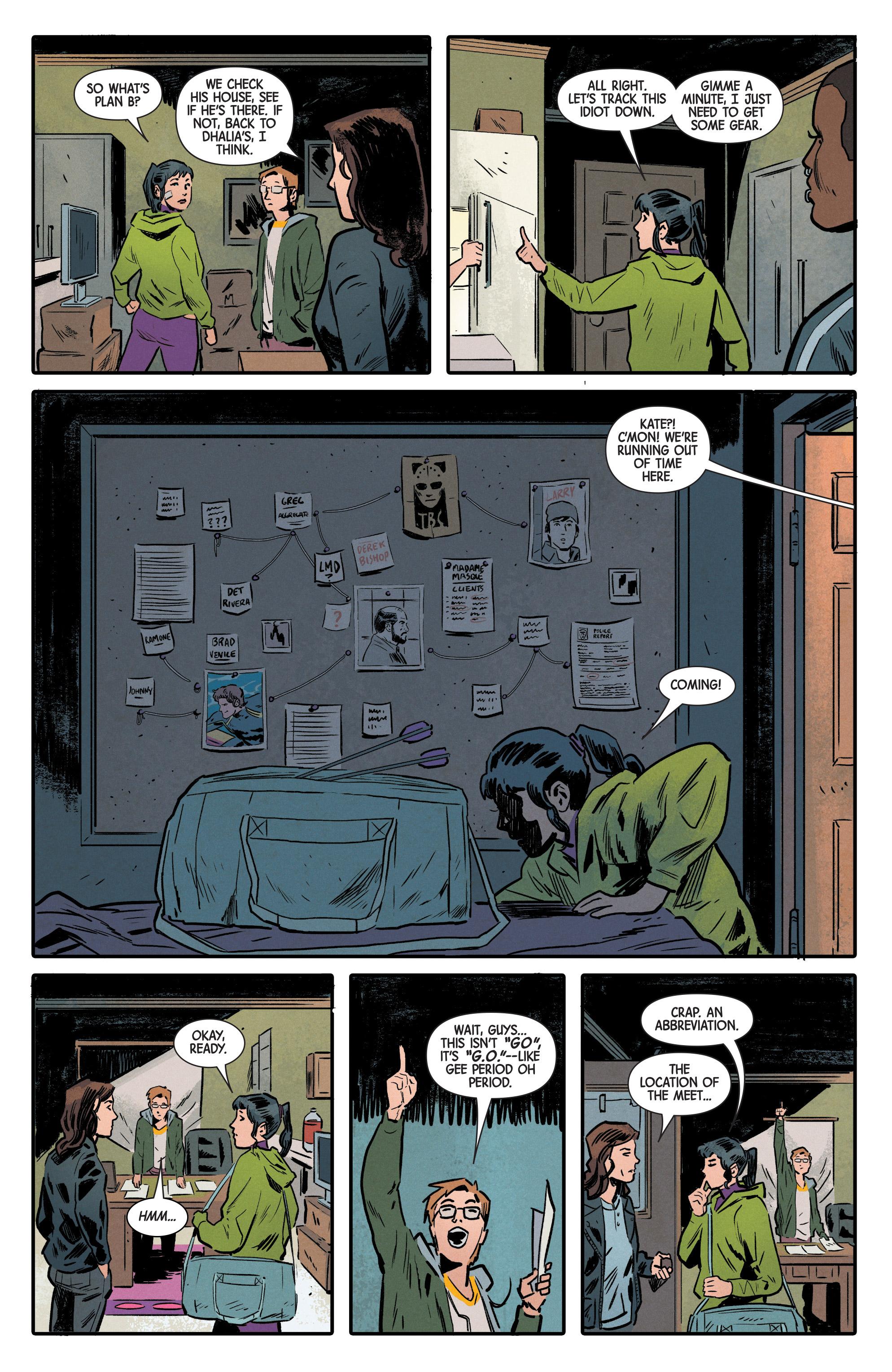 Read online Hawkeye (2016) comic -  Issue #6 - 7