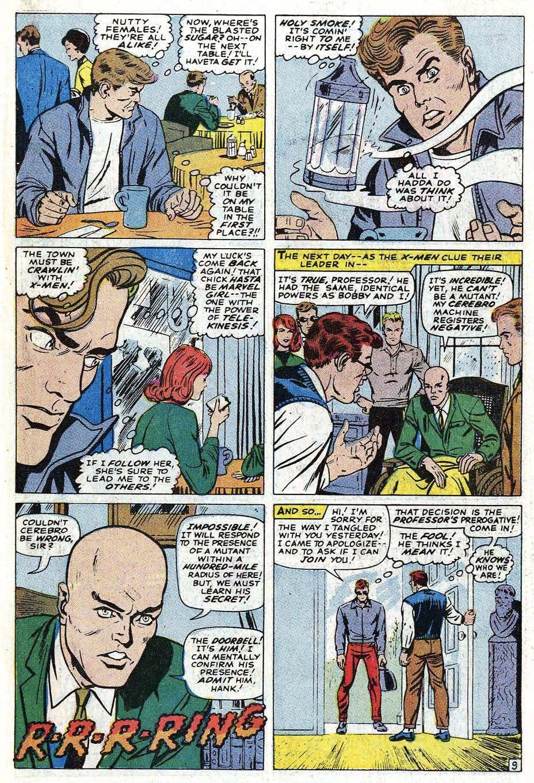 Read online Uncanny X-Men (1963) comic -  Issue #69 - 35