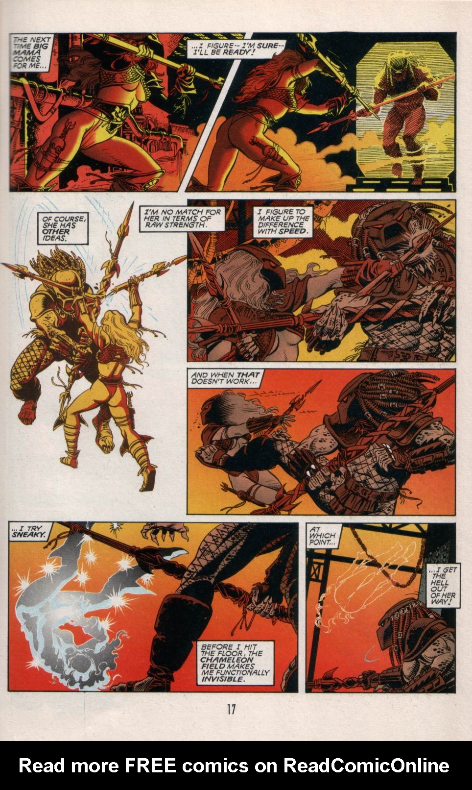 Read online Aliens/Predator: The Deadliest of the Species comic -  Issue #5 - 18