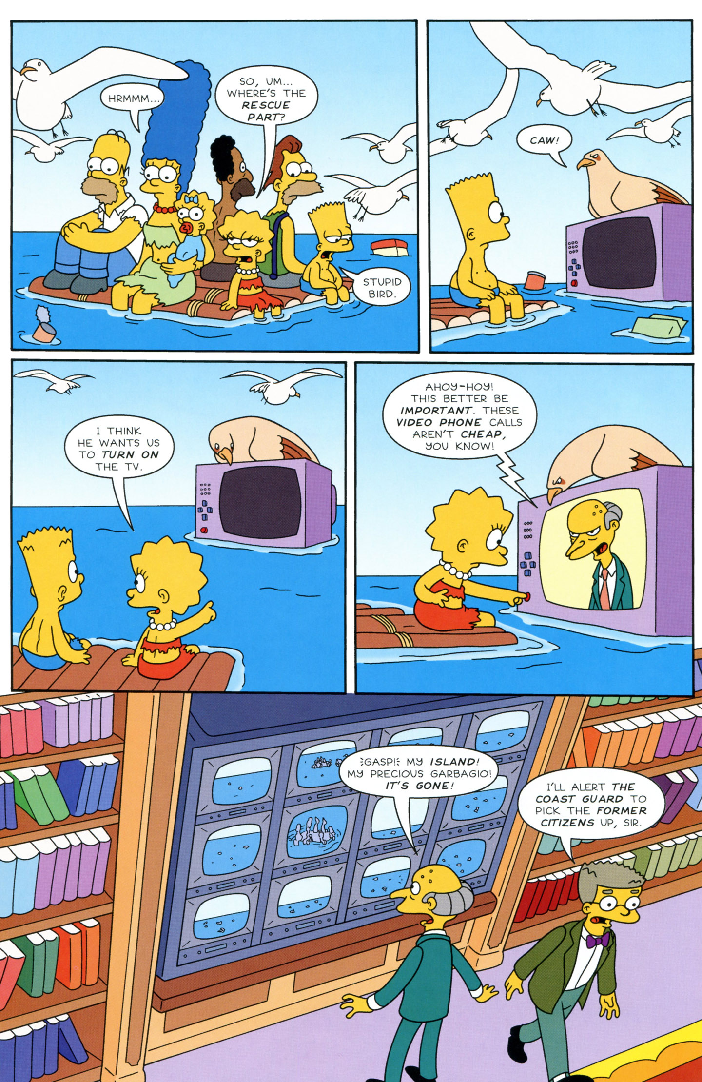Read online Simpsons Illustrated (1991) comic -  Issue #3 - 20