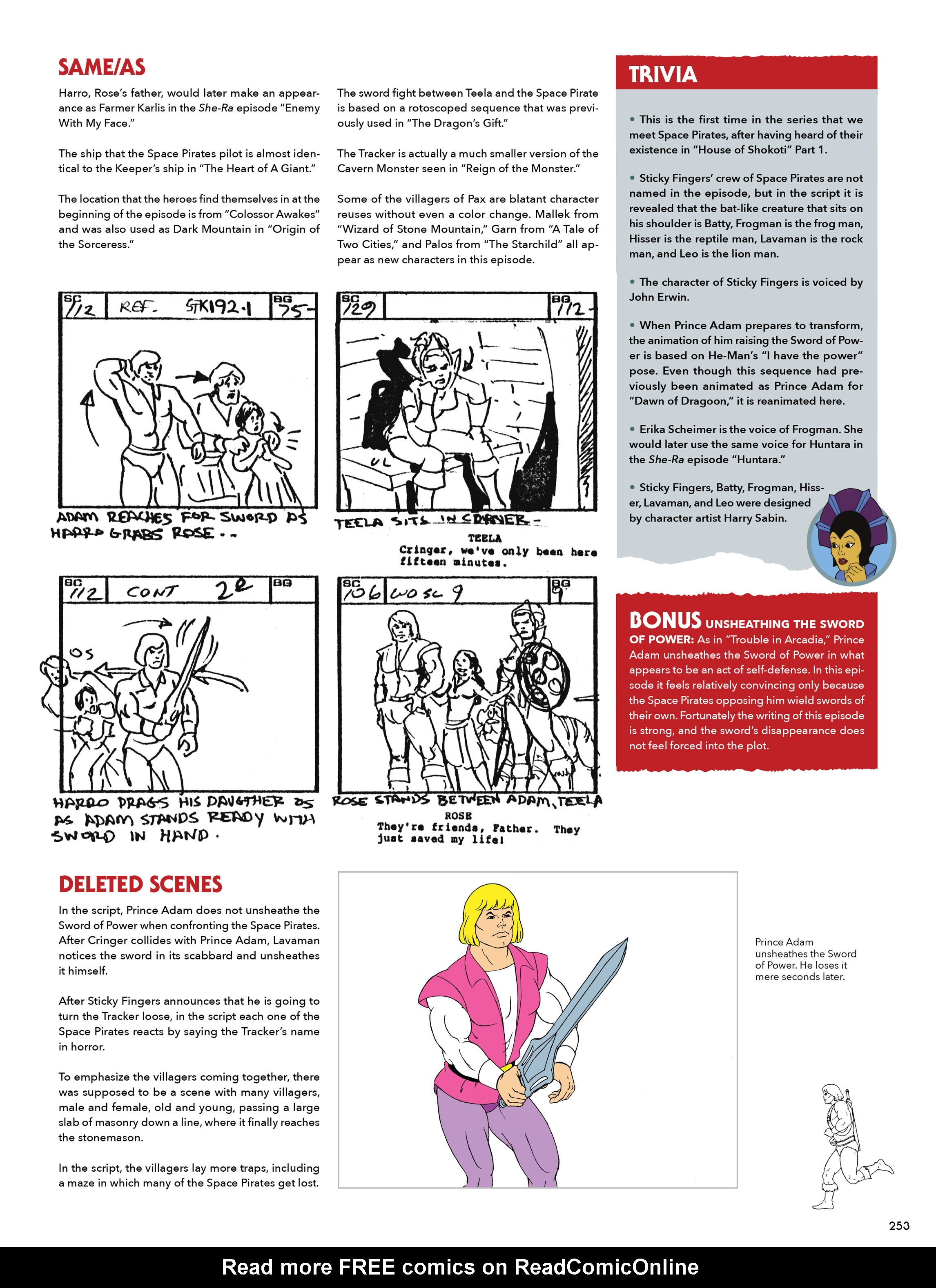 Read online He-Man and She-Ra: A Complete Guide to the Classic Animated Adventures comic -  Issue # TPB (Part 2) - 54