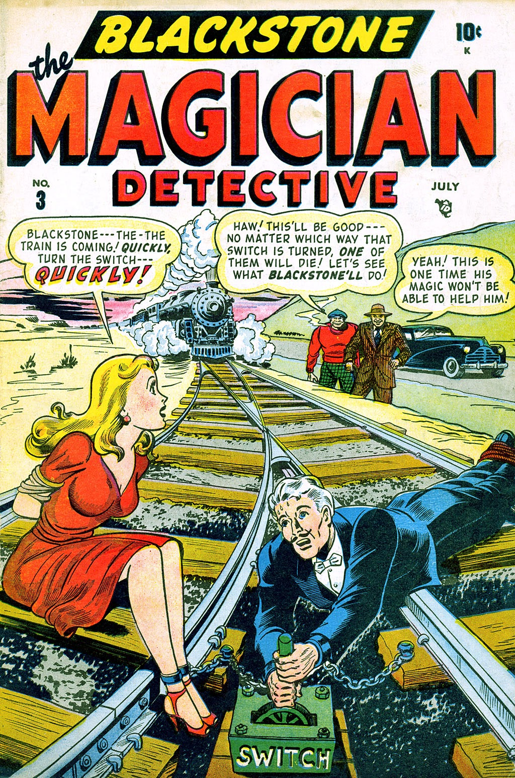 Read online Blackstone the Magician comic -  Issue #3 - 1