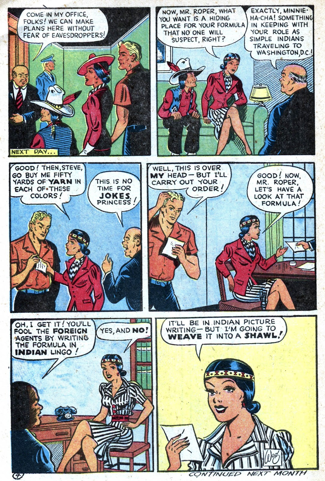 Read online Famous Funnies comic -  Issue #128 - 44