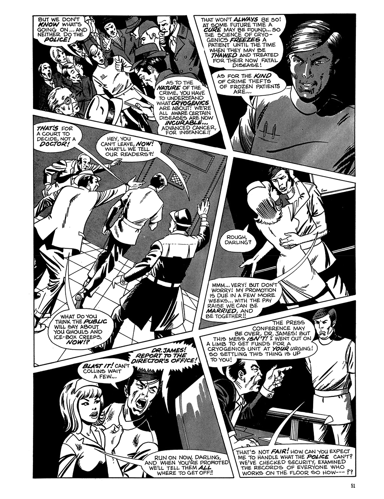 Read online Eerie Archives comic -  Issue # TPB 6 - 52