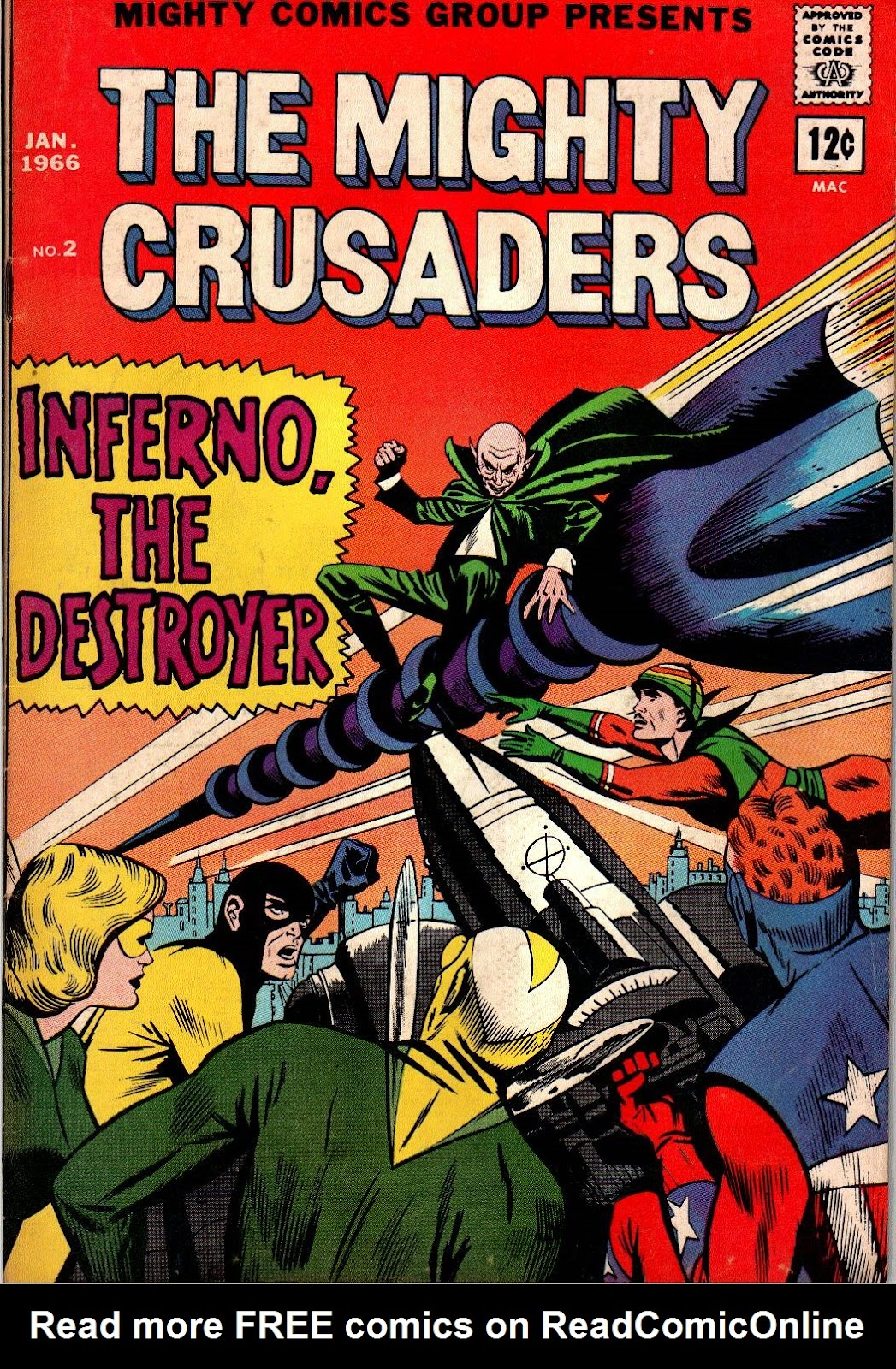 The Mighty Crusaders (1965) Issue #2 #2 - English 1