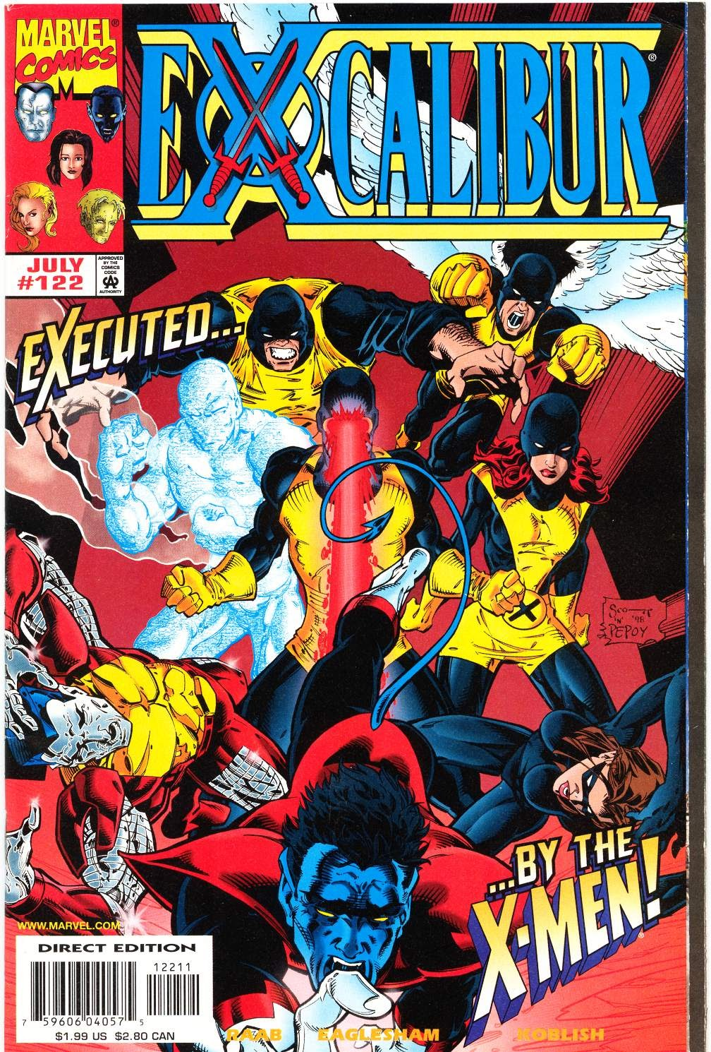 Excalibur (1988) issue 122 - Page 1