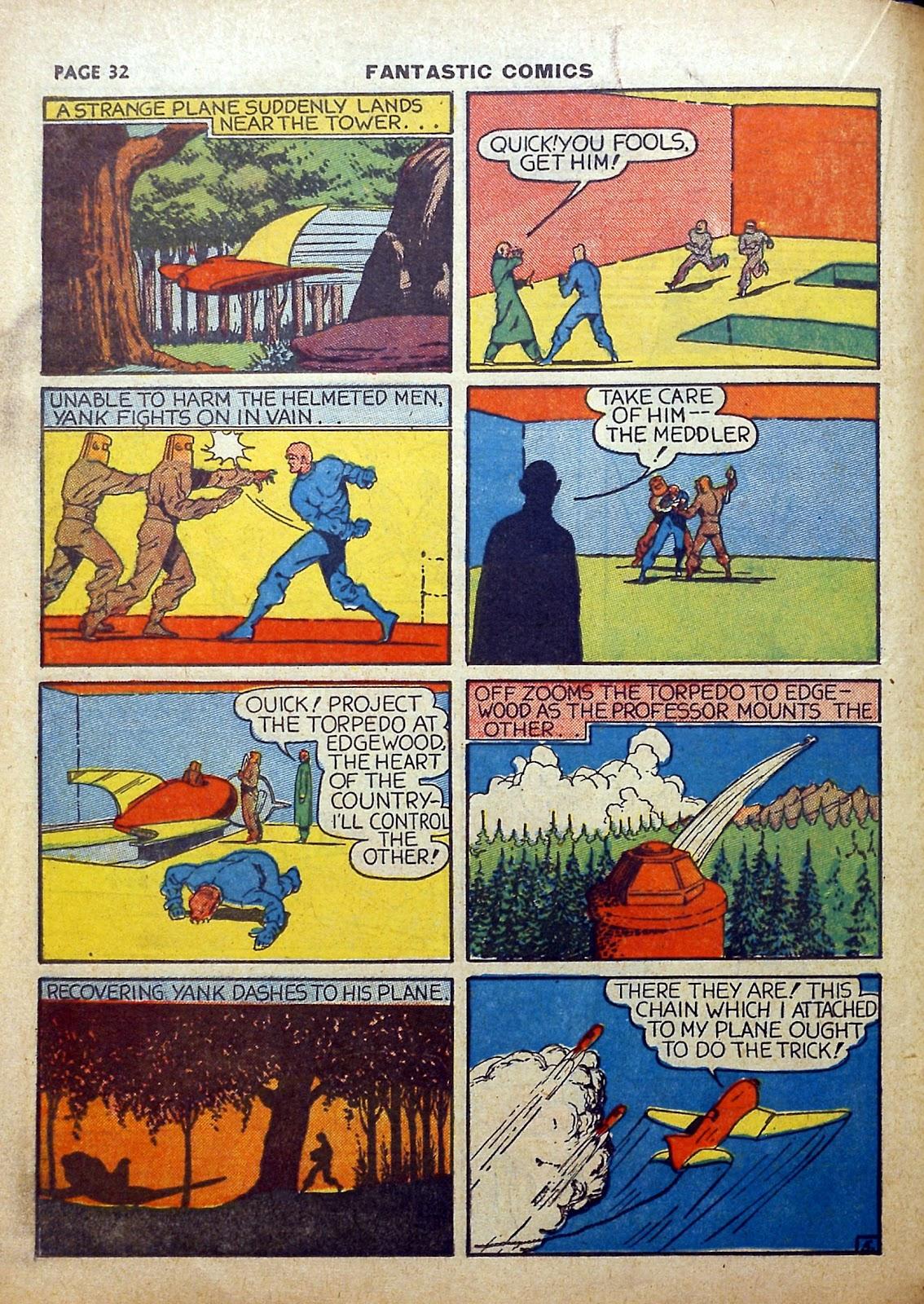 Read online Fantastic Comics comic -  Issue #5 - 33