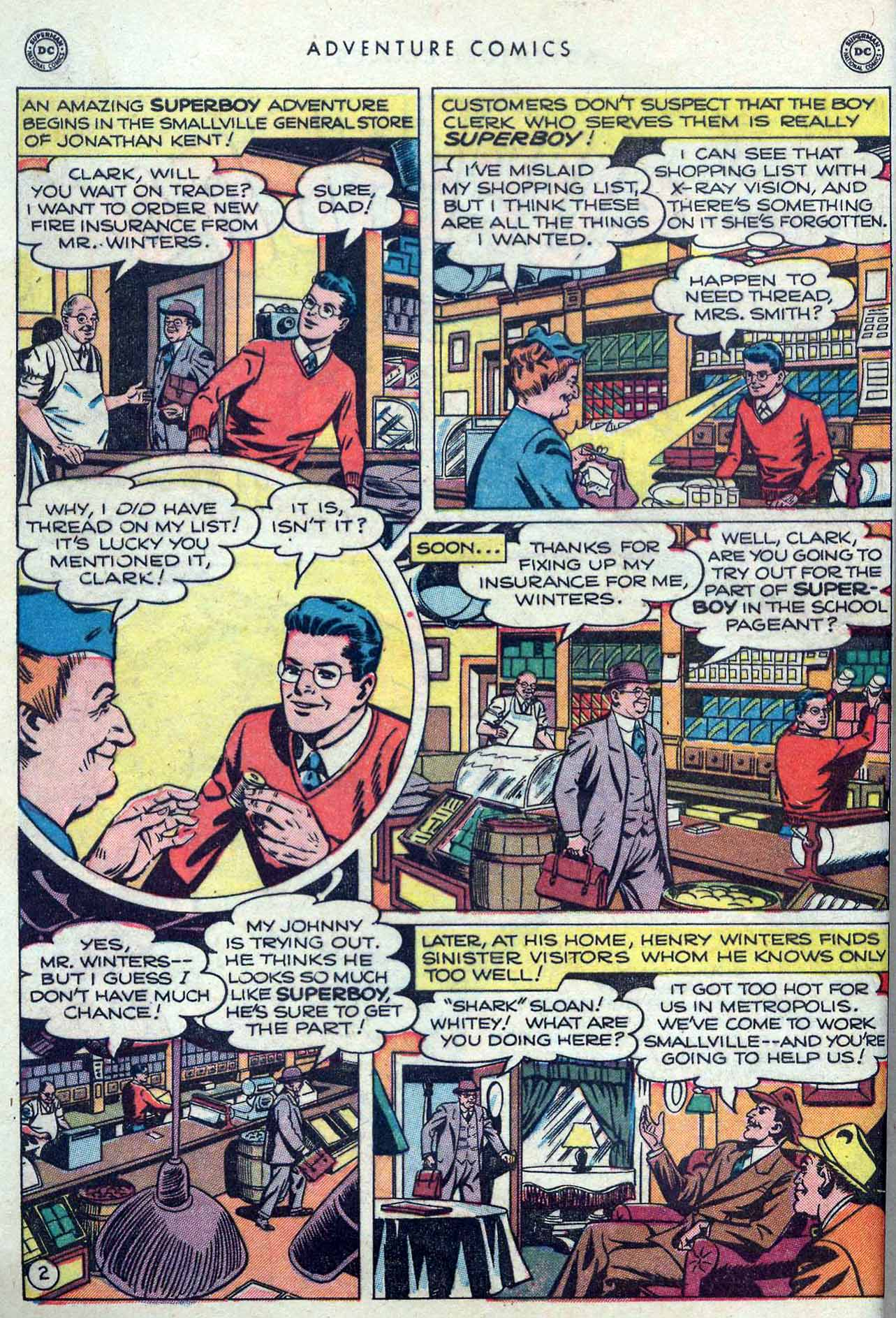 Read online Adventure Comics (1938) comic -  Issue #149 - 4