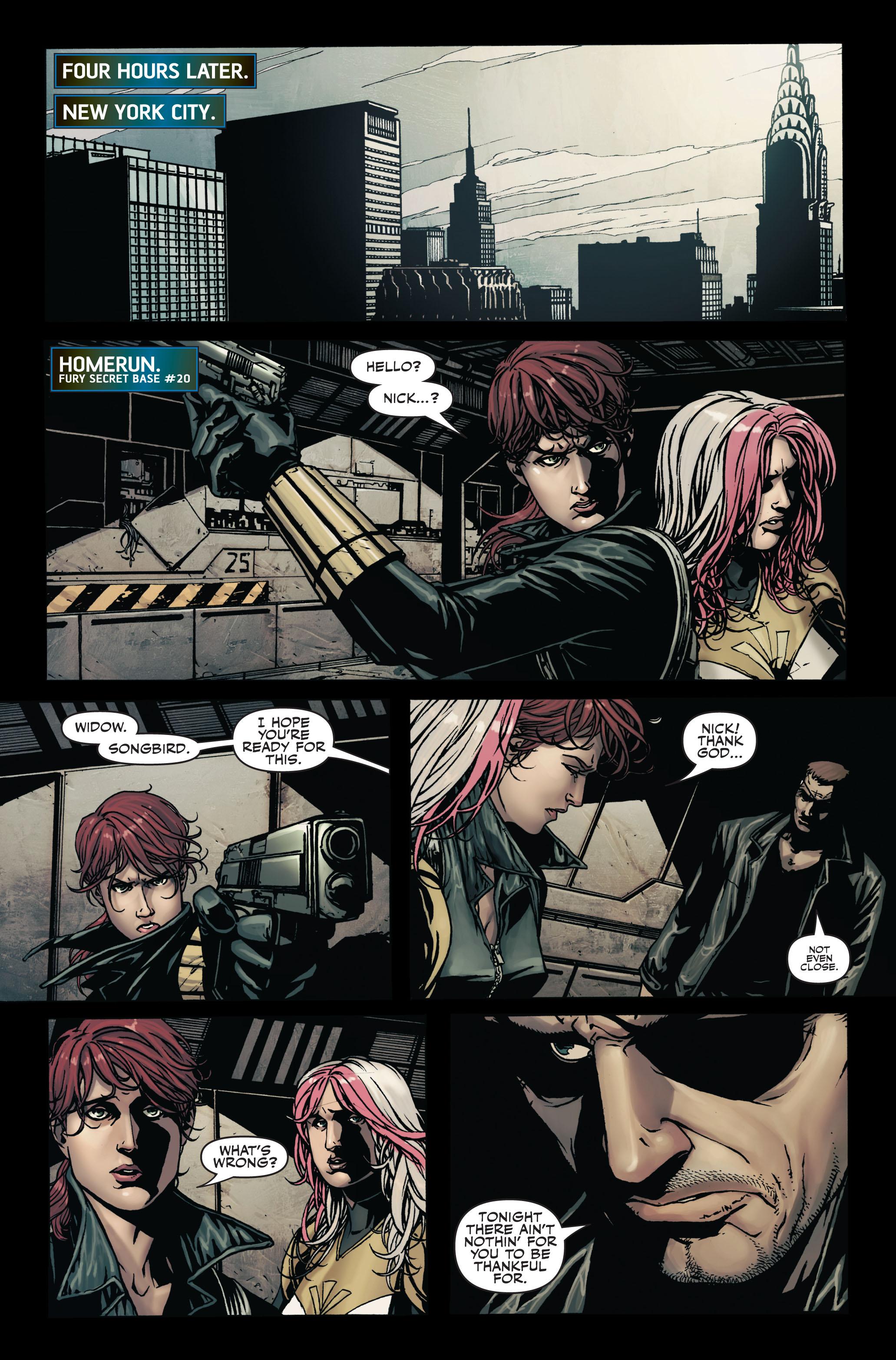 Read online Secret Warriors comic -  Issue #7 - 23