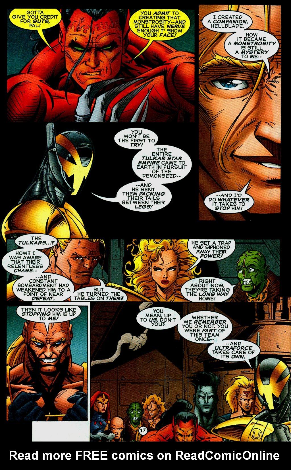 Read online UltraForce (1995) comic -  Issue #14 - 17
