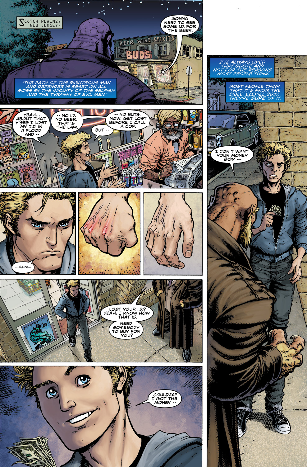Read online Ultimate X comic -  Issue #5 - 3
