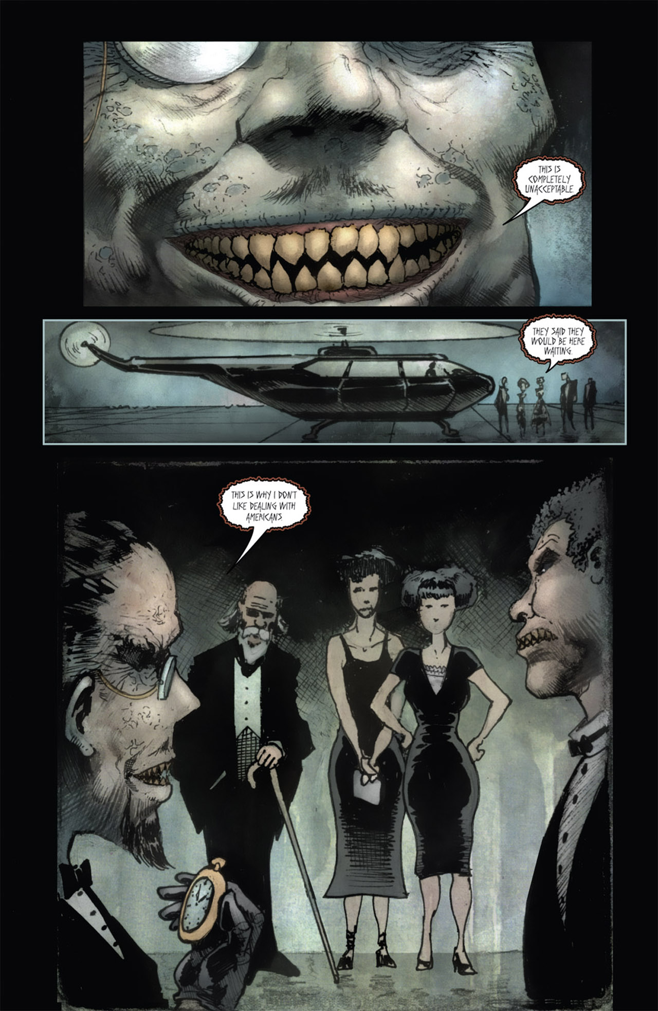 Read online 30 Days of Night (2011) comic -  Issue #1 - 7
