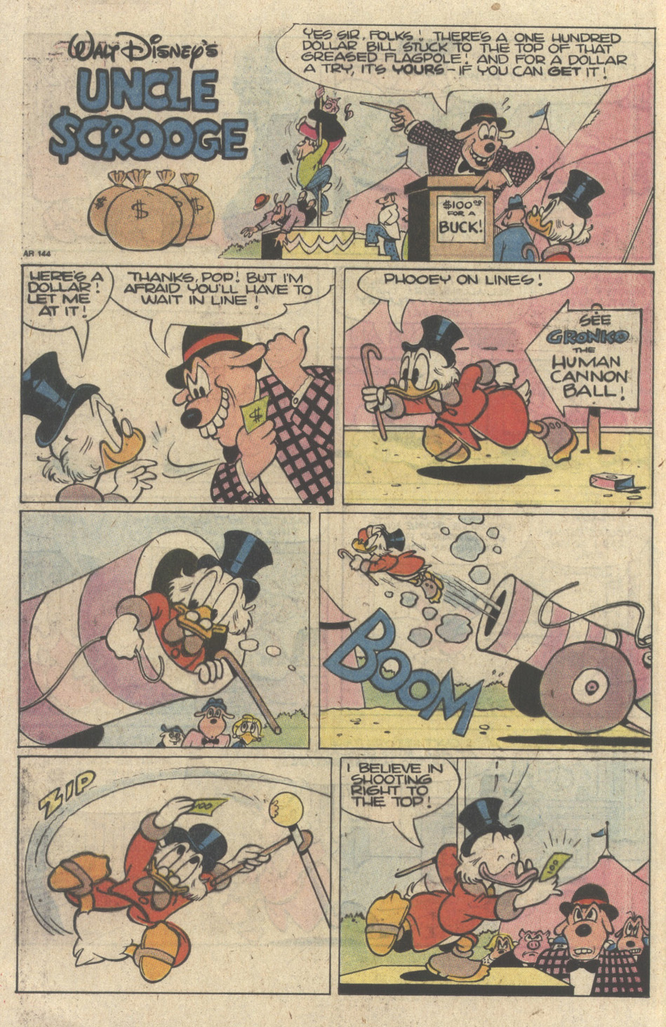 Read online Uncle Scrooge (1953) comic -  Issue #235 - 20