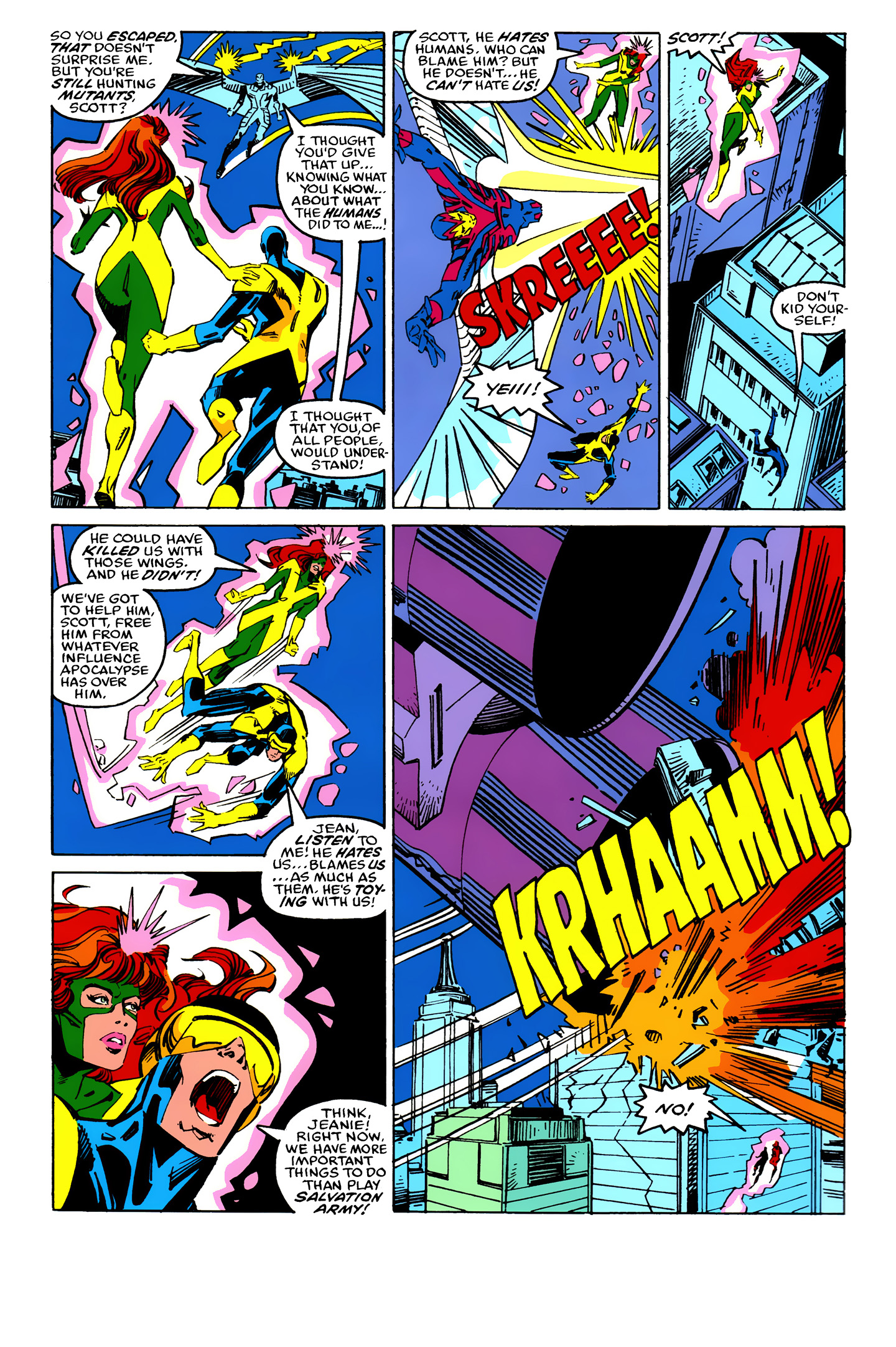 Read online X-Factor (1986) comic -  Issue #25 - 21