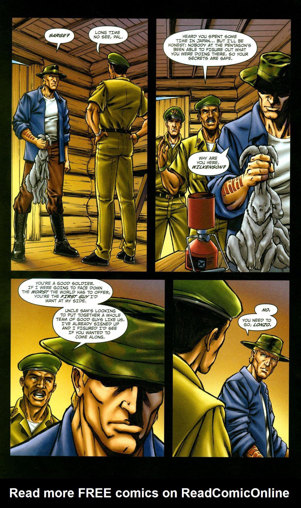 Read online Snake Eyes: Declassified comic -  Issue #5 - 22