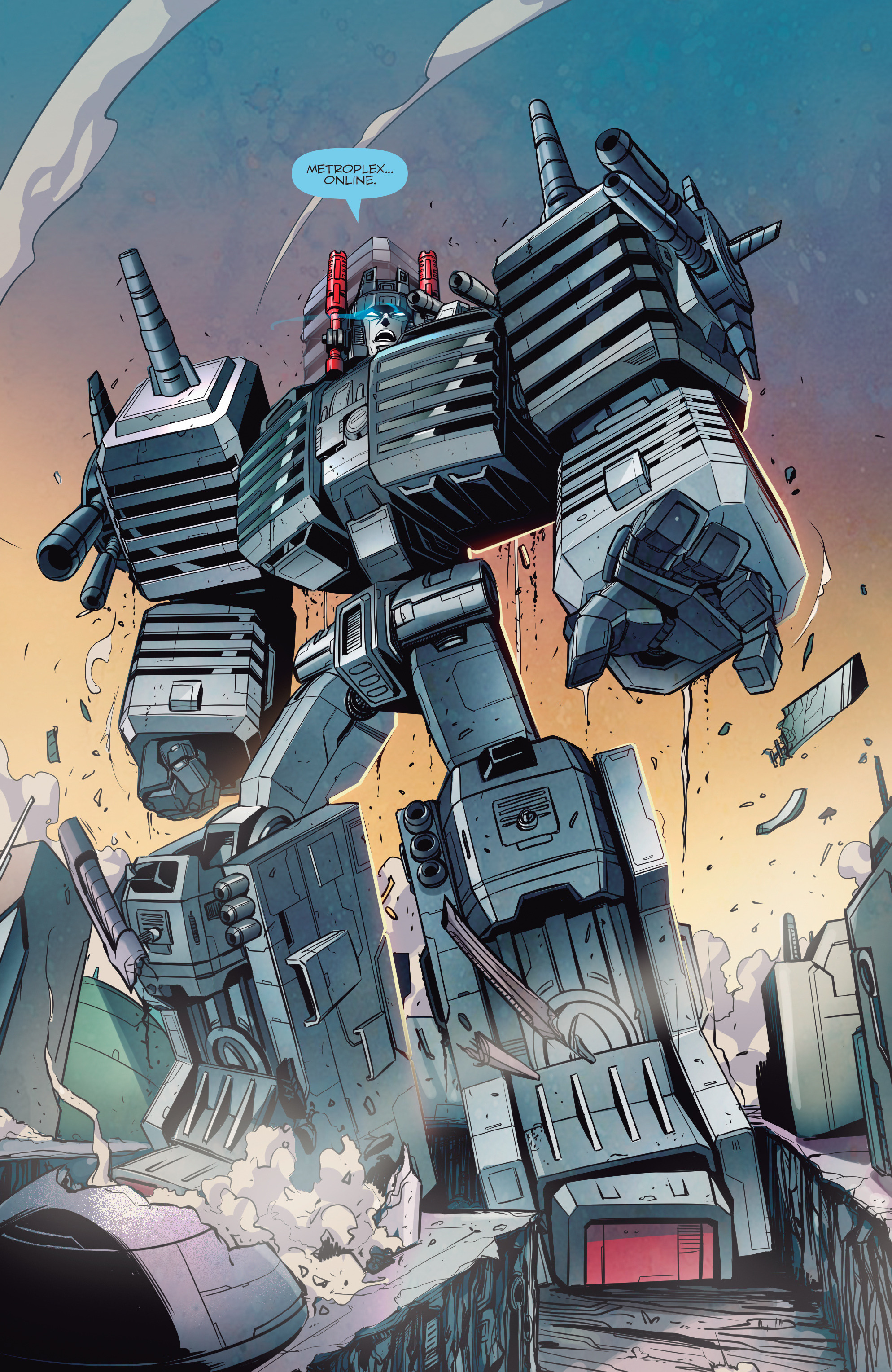 Read online Transformers: Till All Are One comic -  Issue #5 - 17