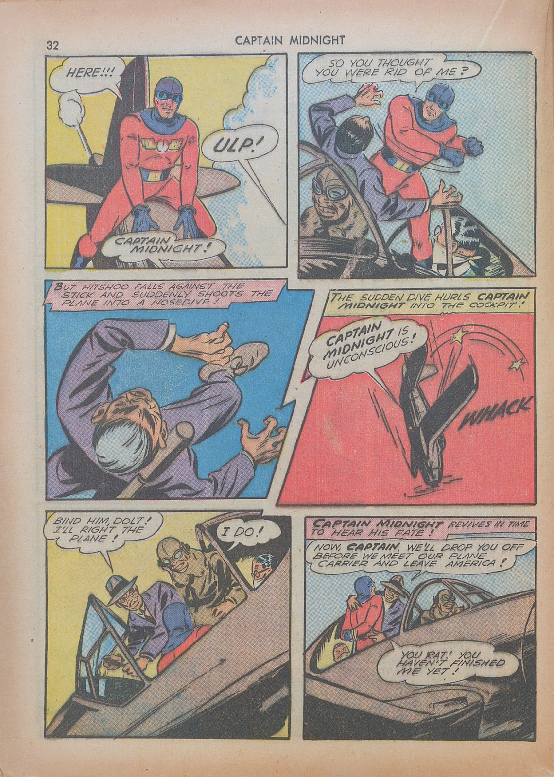 Captain Midnight (1942) issue 7 - Page 32