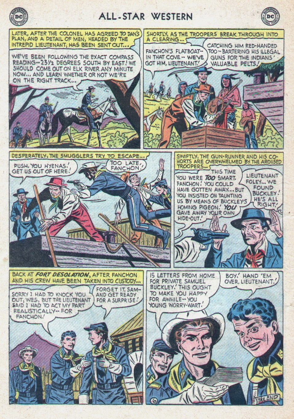 Read online All-Star Western (1951) comic -  Issue #90 - 24