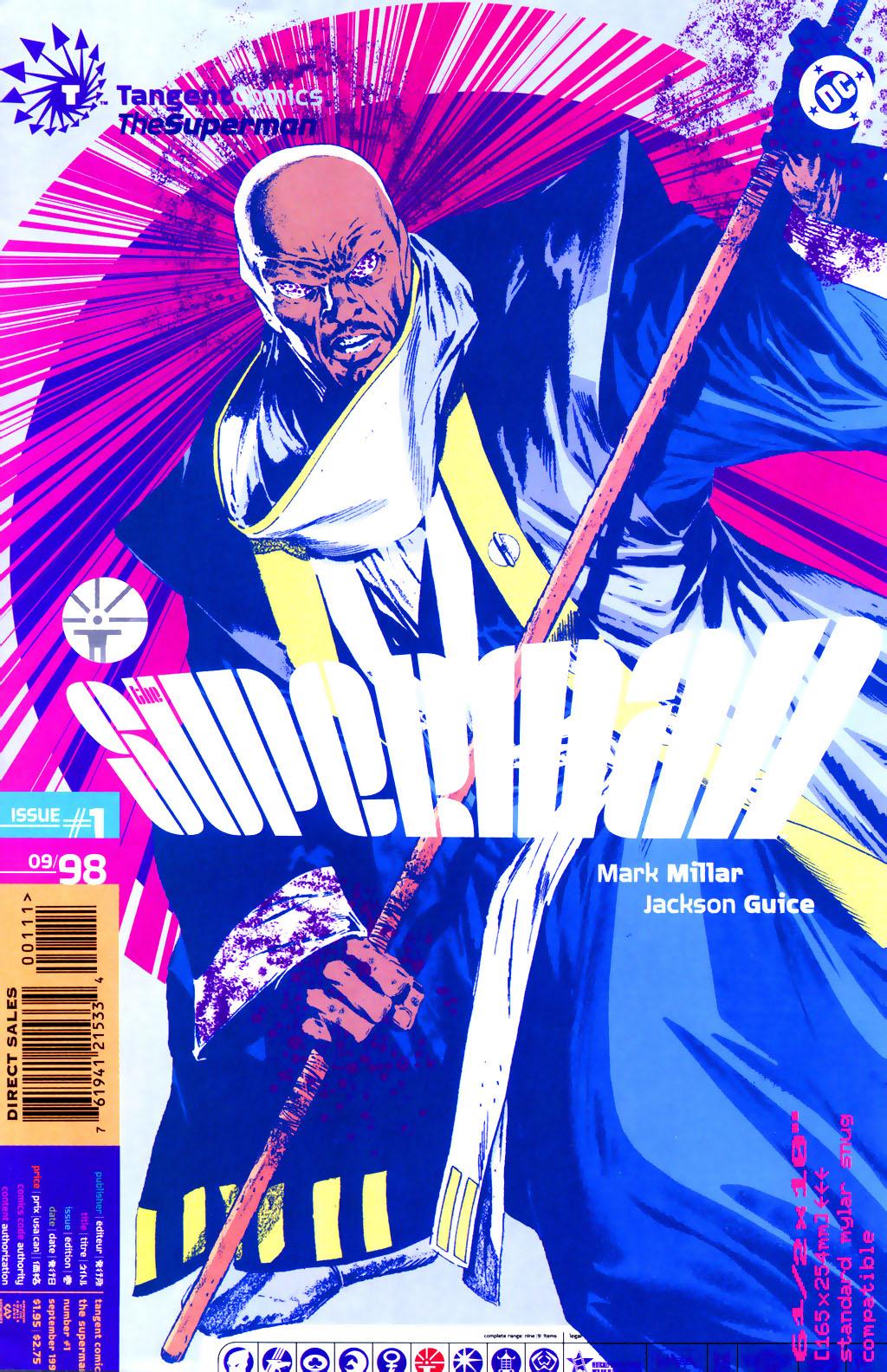 Read online Tangent Comics/ The Superman comic -  Issue # Full - 1