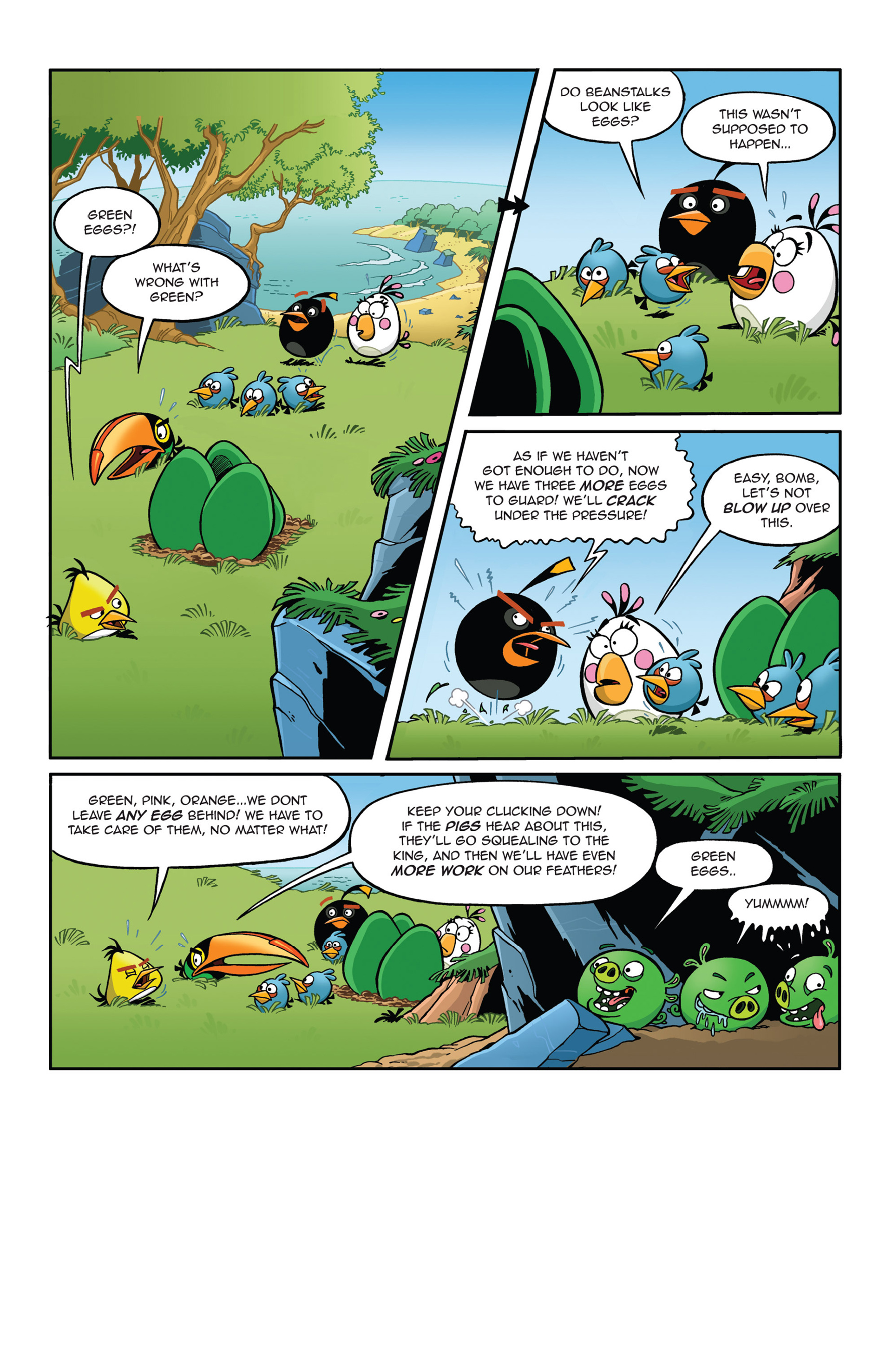 Read online Angry Birds Comics (2014) comic -  Issue #5 - 5