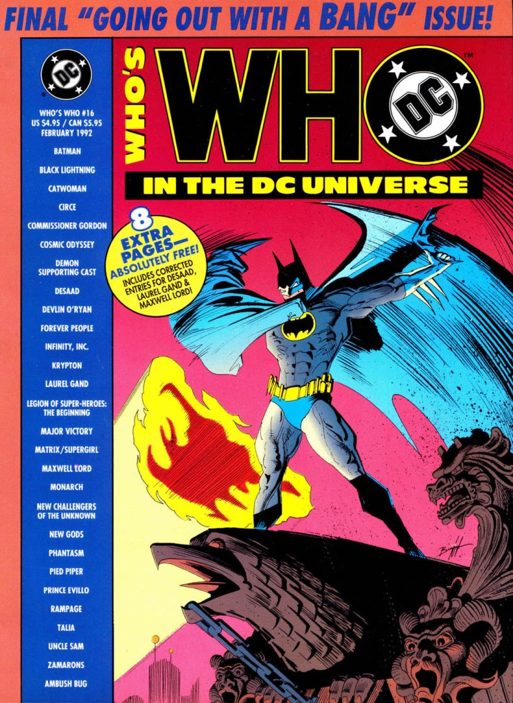 Whos Who in the DC Universe 16 Page 1