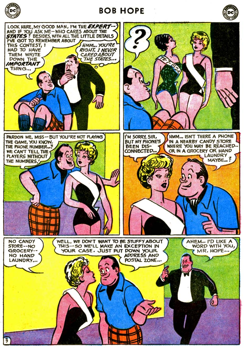The Adventures of Bob Hope issue 72 - Page 5