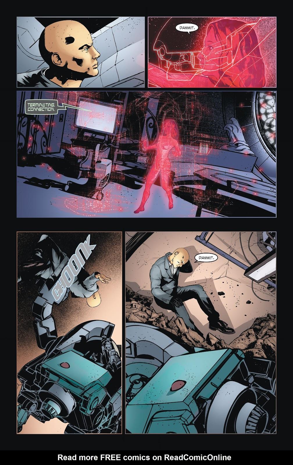 Read online Smallville Season 11 [II] comic -  Issue # TPB 6 - 40