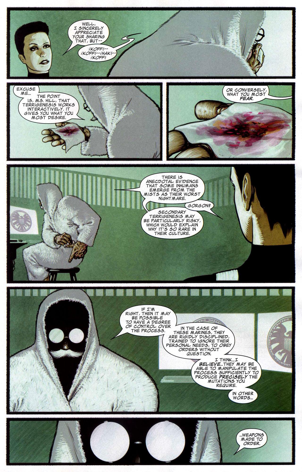 Read online Silent War comic -  Issue #4 - 16